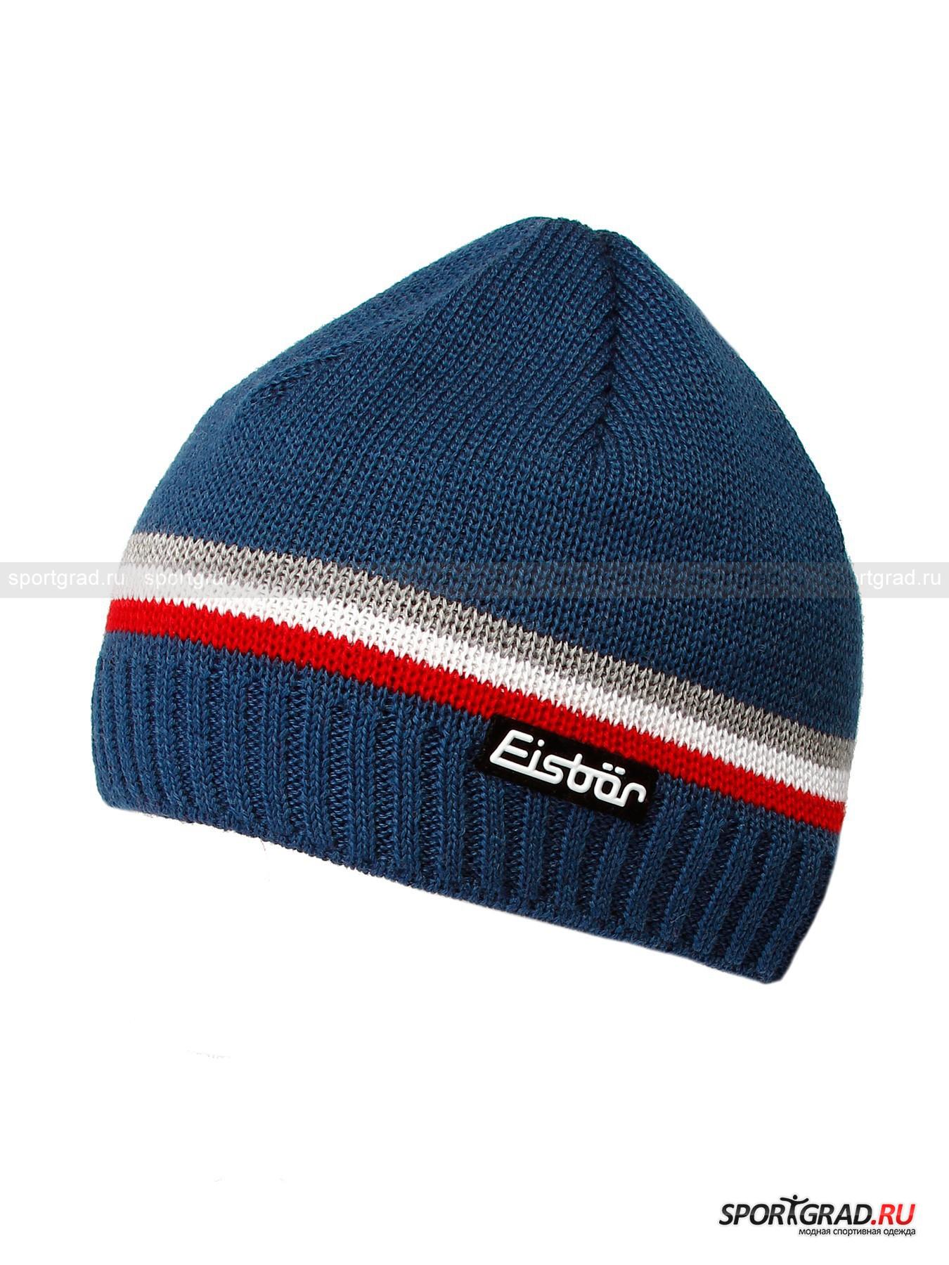 Мужская шапка EISBAR Mountain Stripes