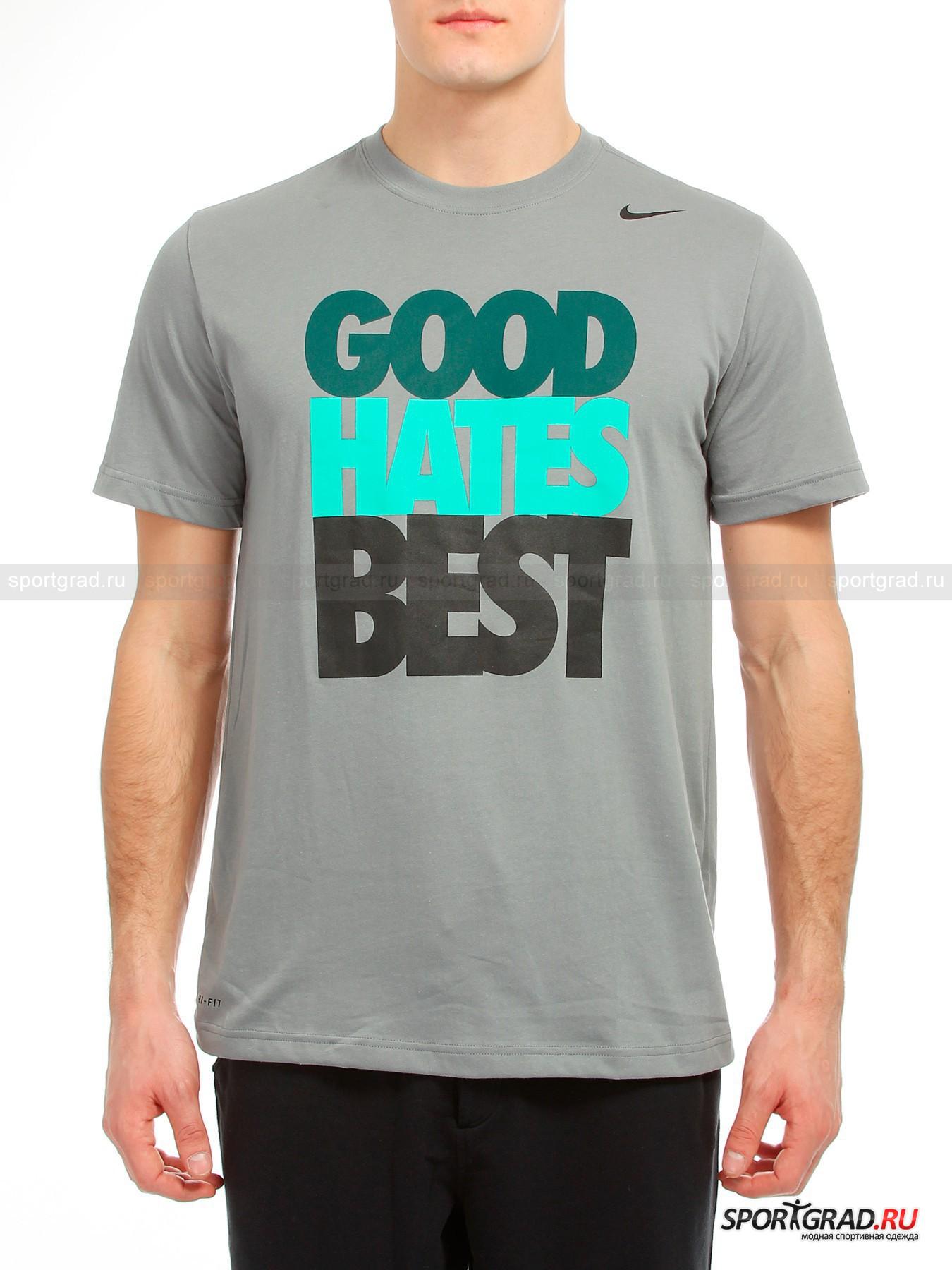 Футболка мужская DFCT GOOD HATES BEST NIKE