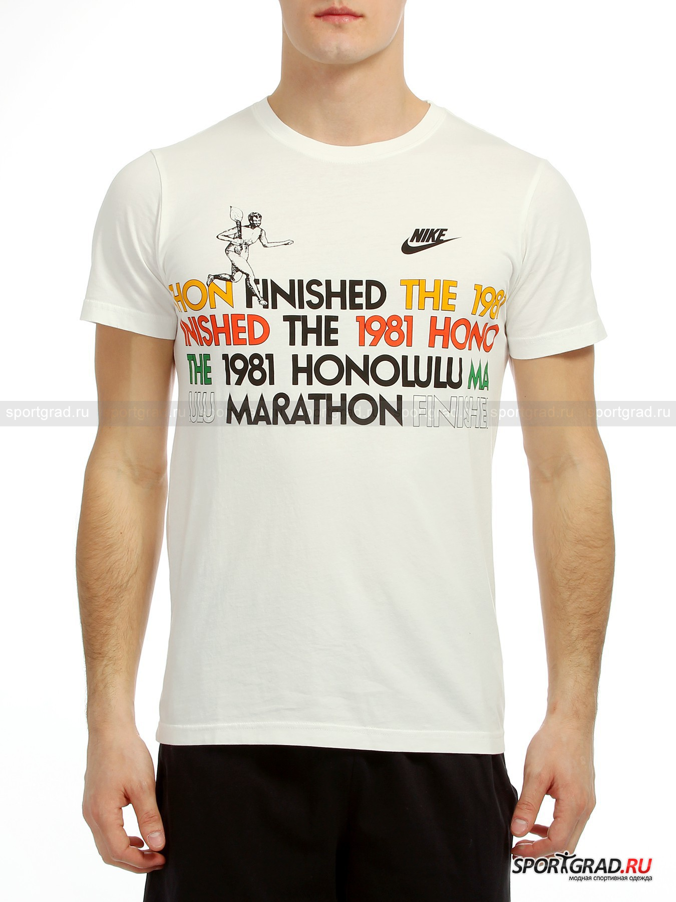 Футболка Honolulu Marathon NIKE