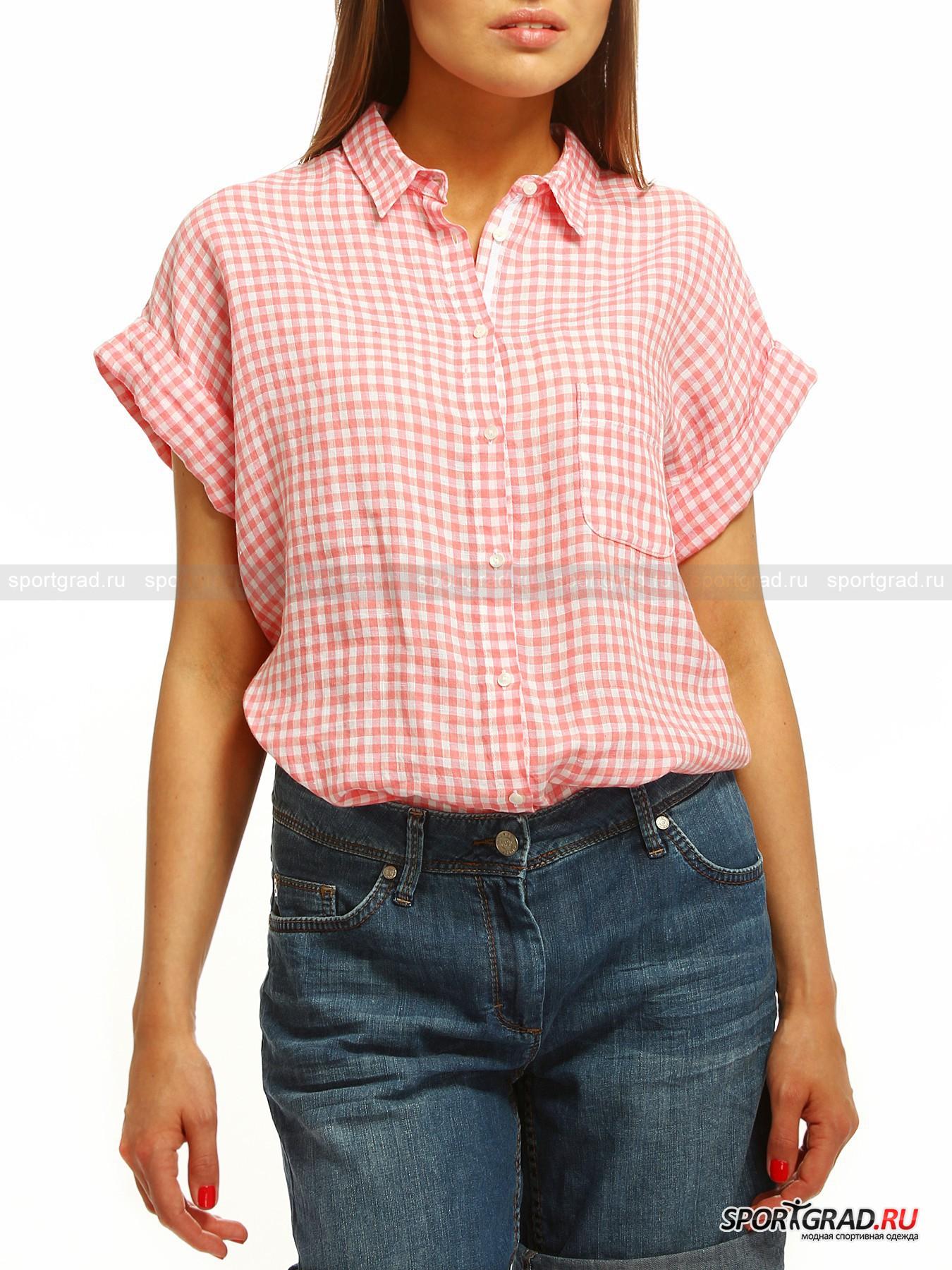Льняная Рубашка Женская