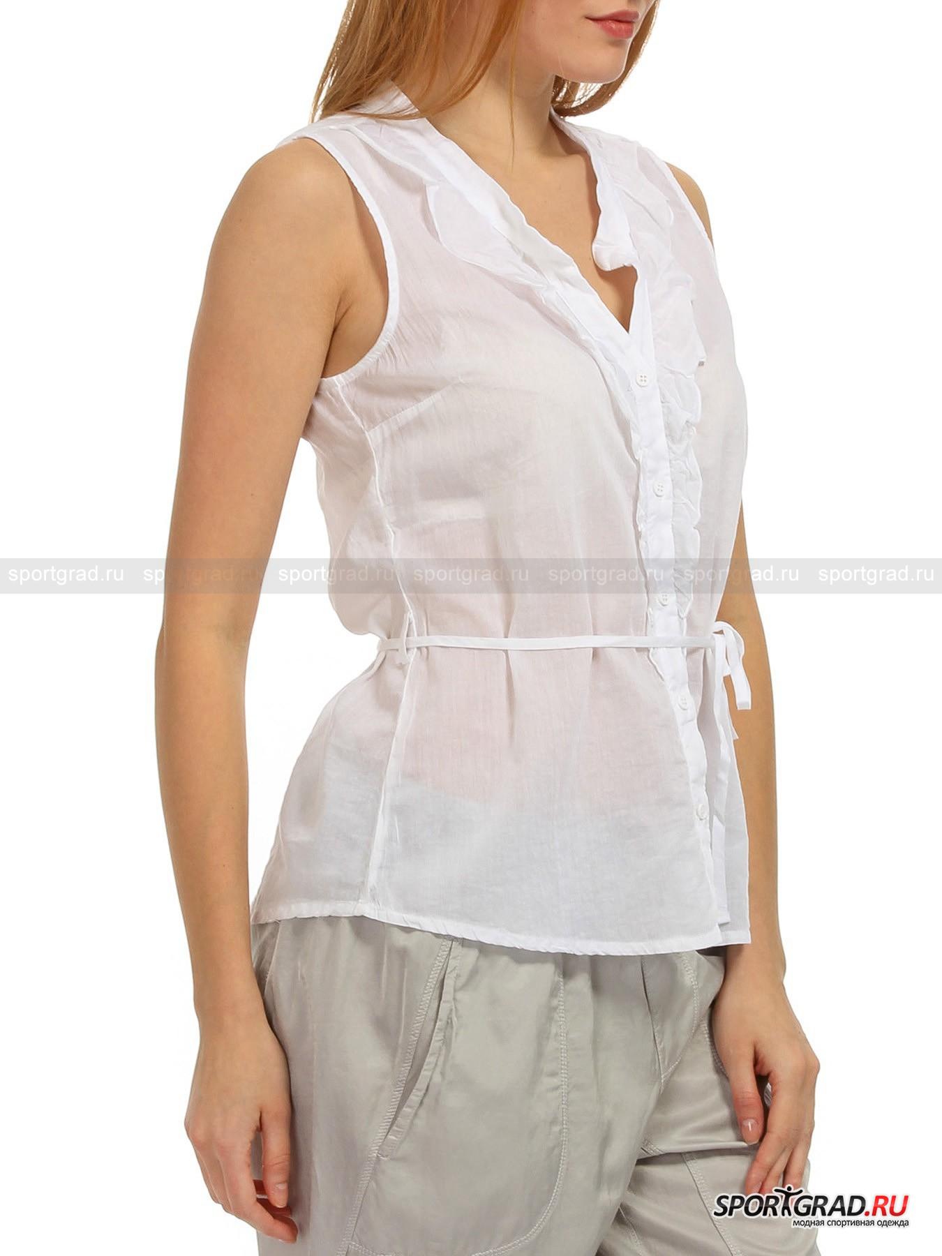 Рубашка женская хлопковая без рукавов Sleeveless  DEHA от Спортград