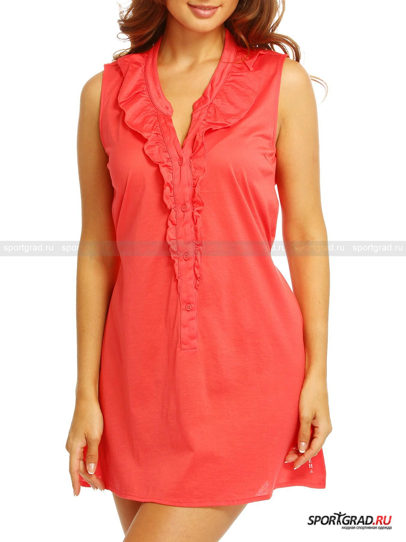 Платье-туника женское хлопковое DEHA