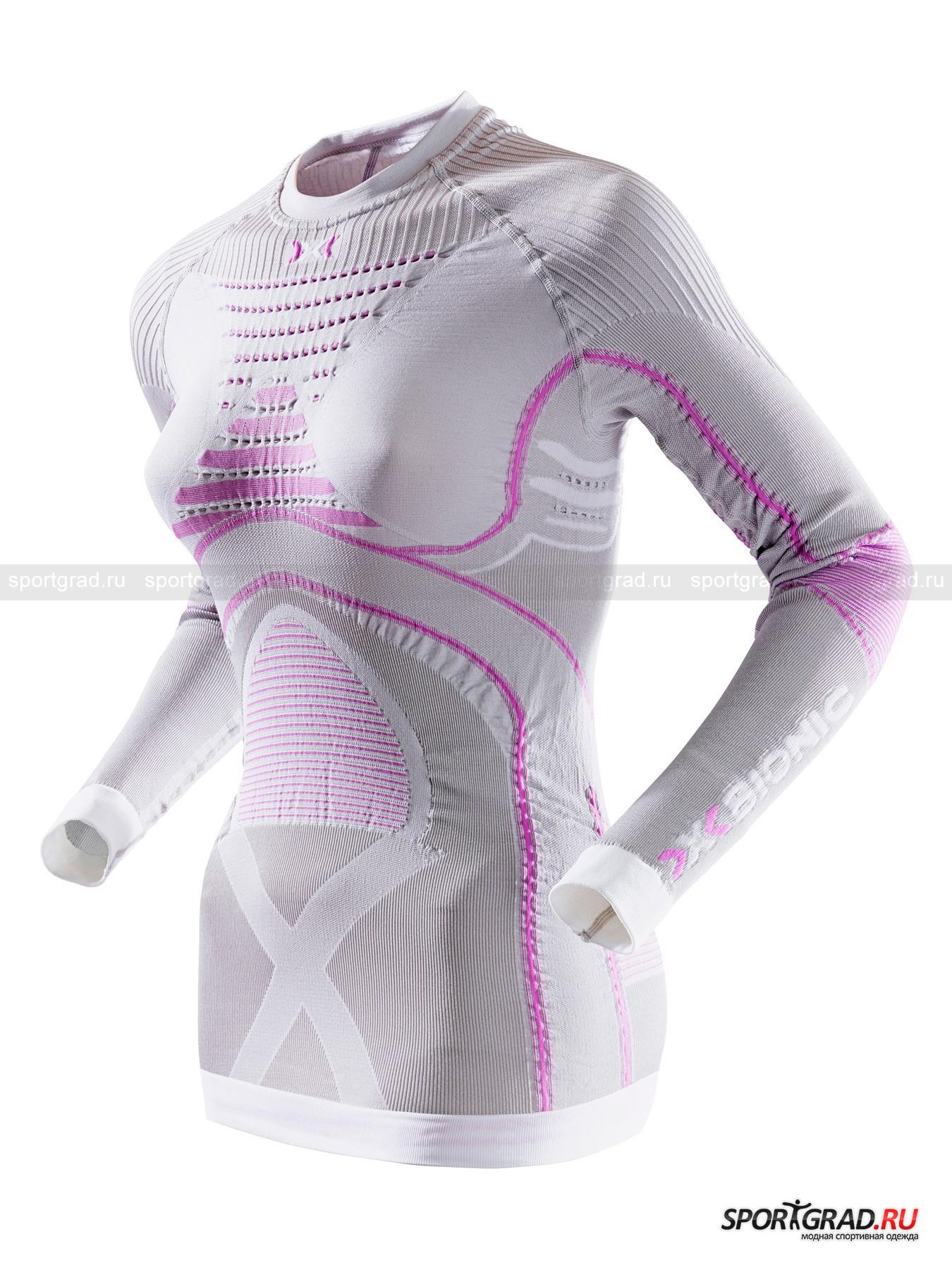 Белье: термофутболка женская с длинным рукавом  X-BIONIC RADIACTOR  EVO LAD для охоты и спорта