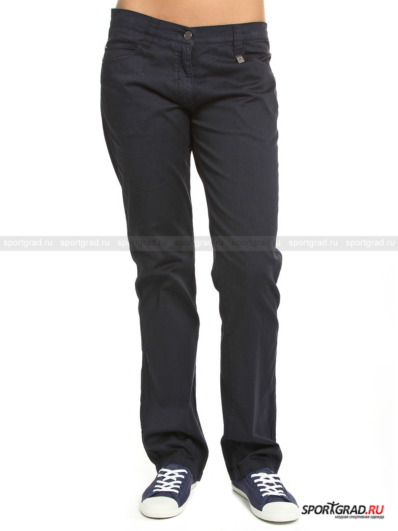 Брюки женские хлопковые  LADY LONG PANT TWILL STRETCH CAMPAGNOLO
