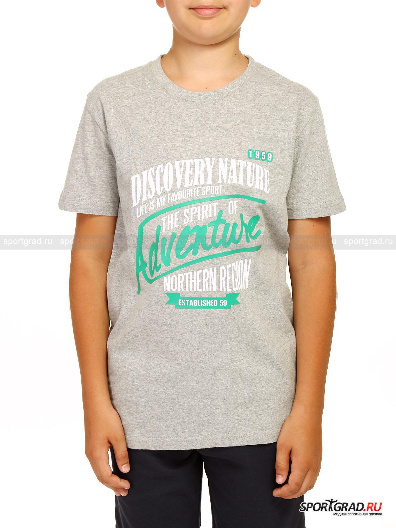 Футболка для мальчиков JUNIOR T-SHIRT JERSEY CAMPAGNOLOФутболки<br>Плотная детская футболка CAMPAGNOLO, сшитая из особенно мягкой хлопковой ткани непременно станет одной из самых любимых вещей для Вашего ребёнка. Грудь модели украшена большим зелёно-белым принтом с именем коллекции и девизом компании: LIFE IS MY FAVOURITE SPORT! Также футболка декорирована небольшой нашивкой с  логотипом компании и надписью CMP NORTHERN REGION. Дизайн и качество CAMPAGNOLO, рождённый в Италии.<br><br>Возраст: Детский<br>Тип: Футболки<br>Рекомендации по уходу: Ручная стирка при 30 градусах, щадящий ручной отжим, гладить при температуре до 120 градусов, вывернув наизнанку.<br>Состав: 100% хлопок