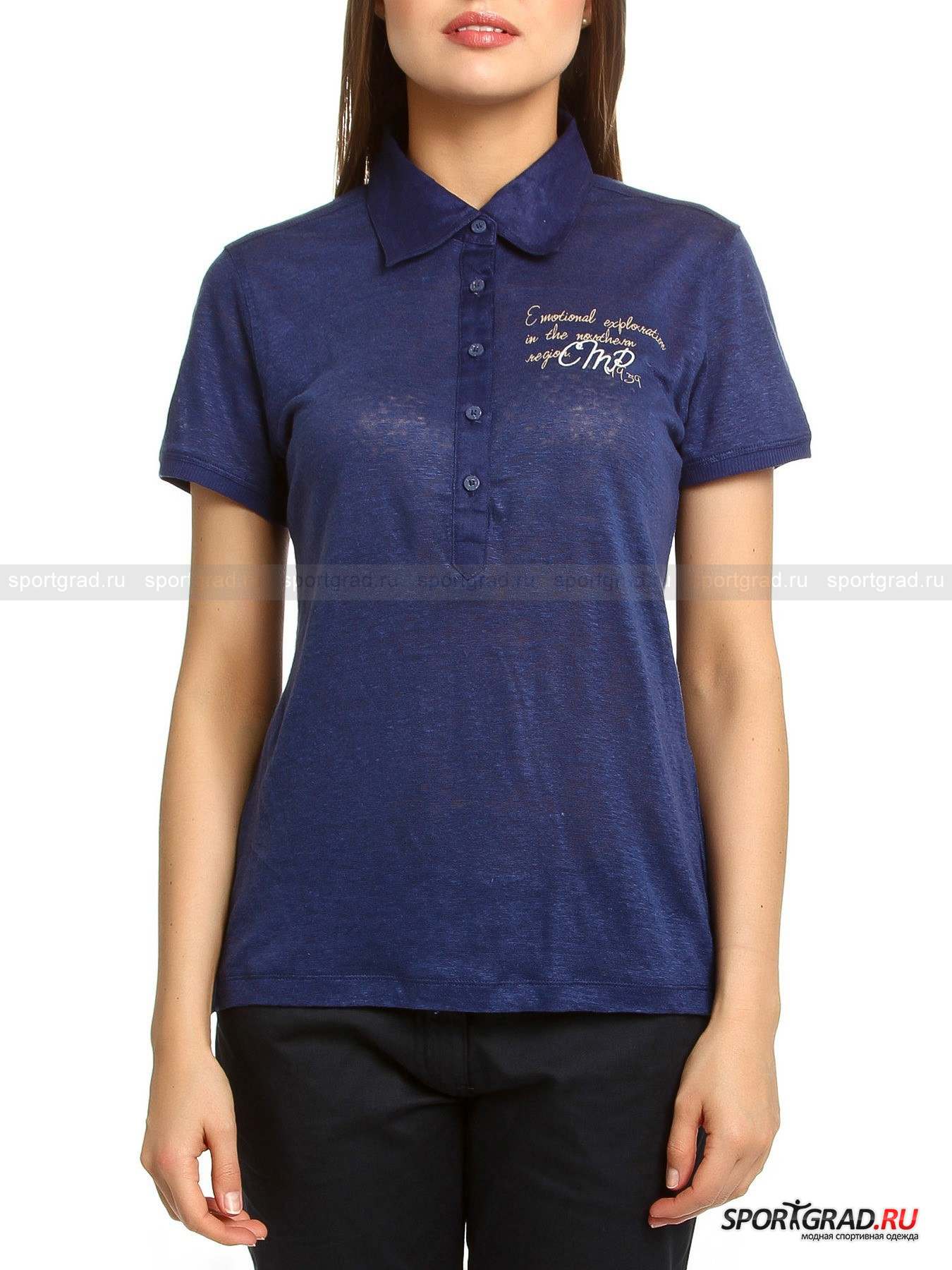 ���� ������� ������� LADY POLO JERSEY/LINEN CAMPAGNOLO