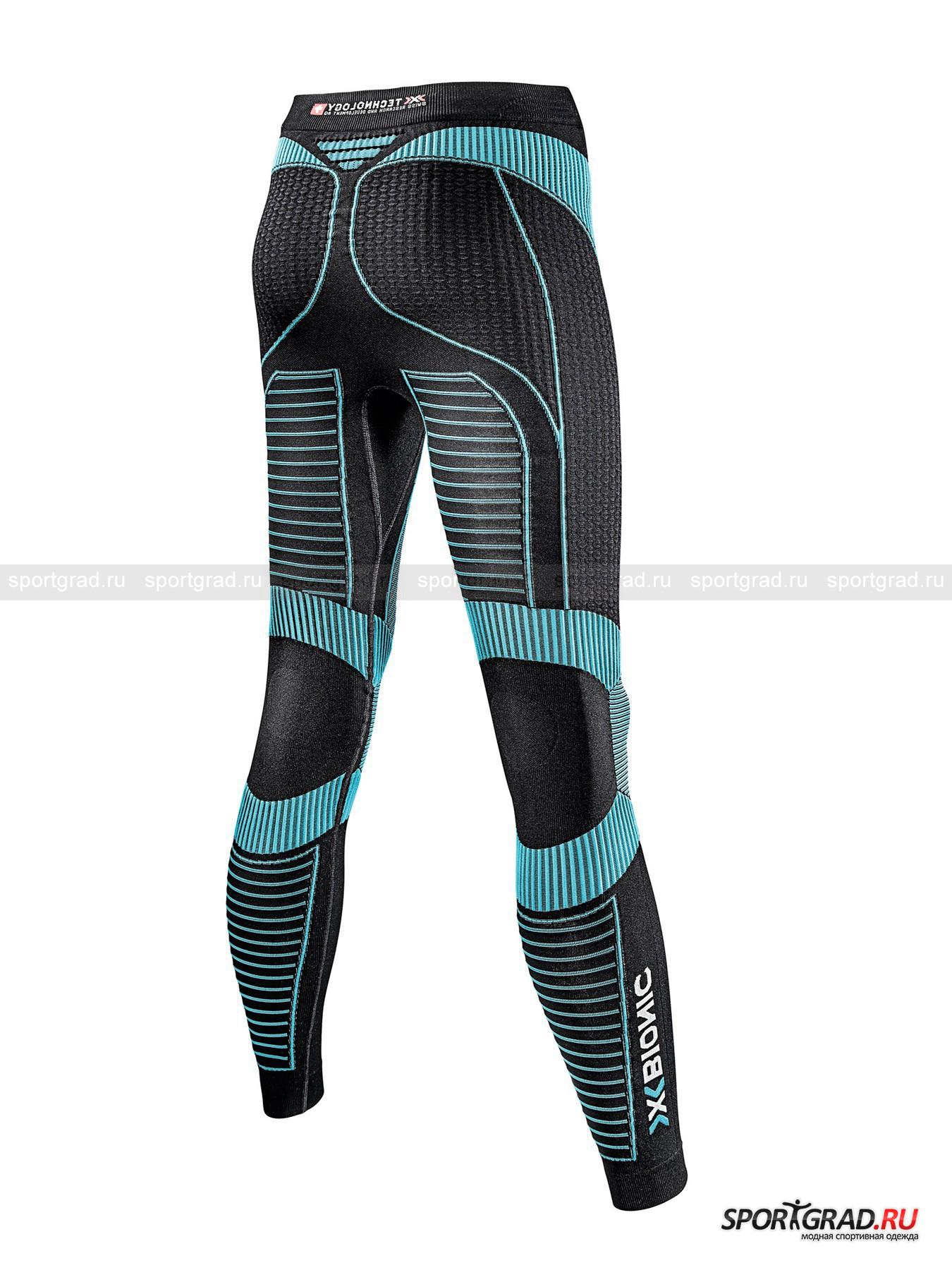 Белье: термолеггинсы женские Effektor power Running pants long X для бега от Спортград