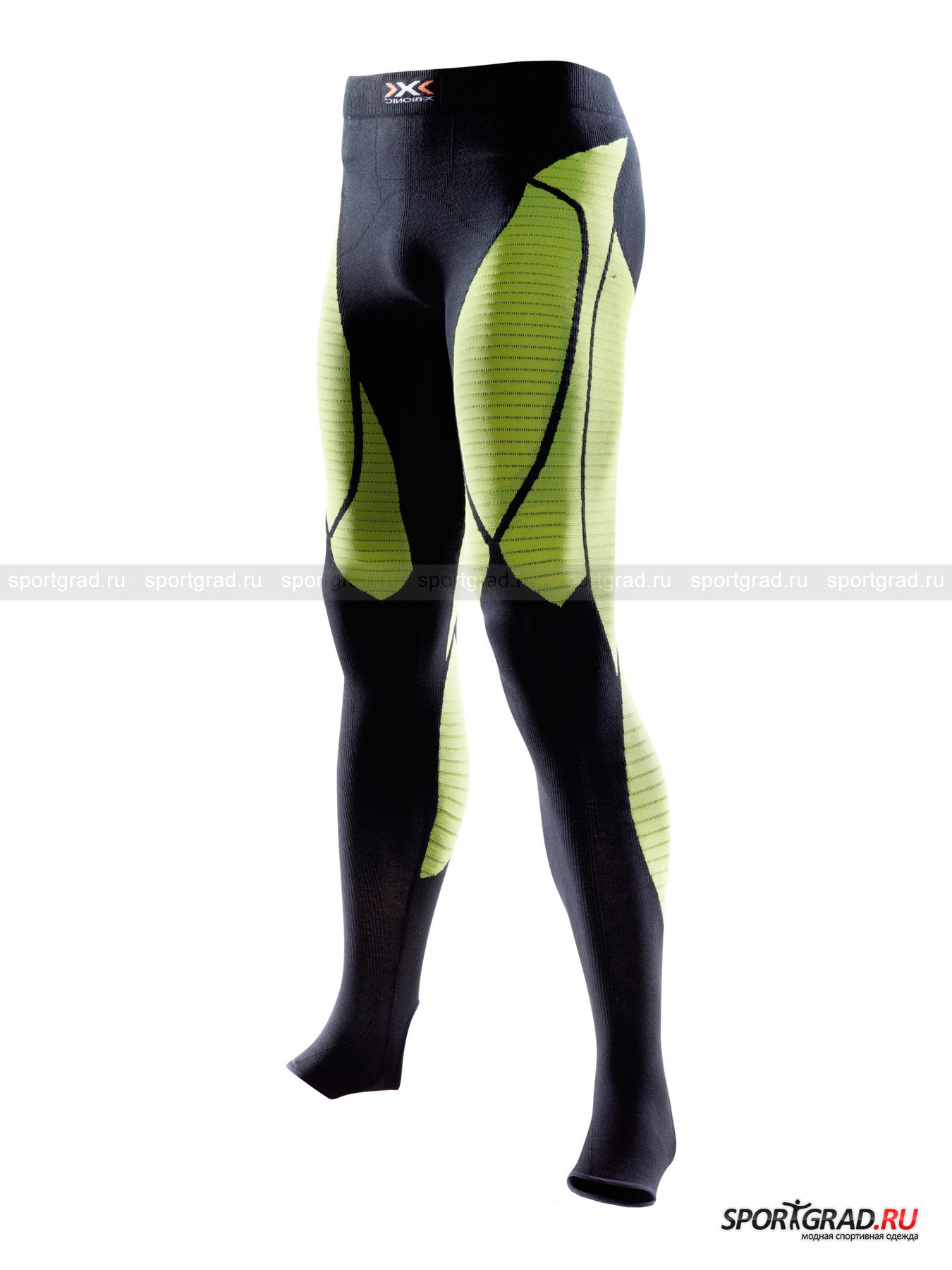 Белье: термолеггинсы мужские Precuperation Pant long X-BIONIC для сна и отдыха