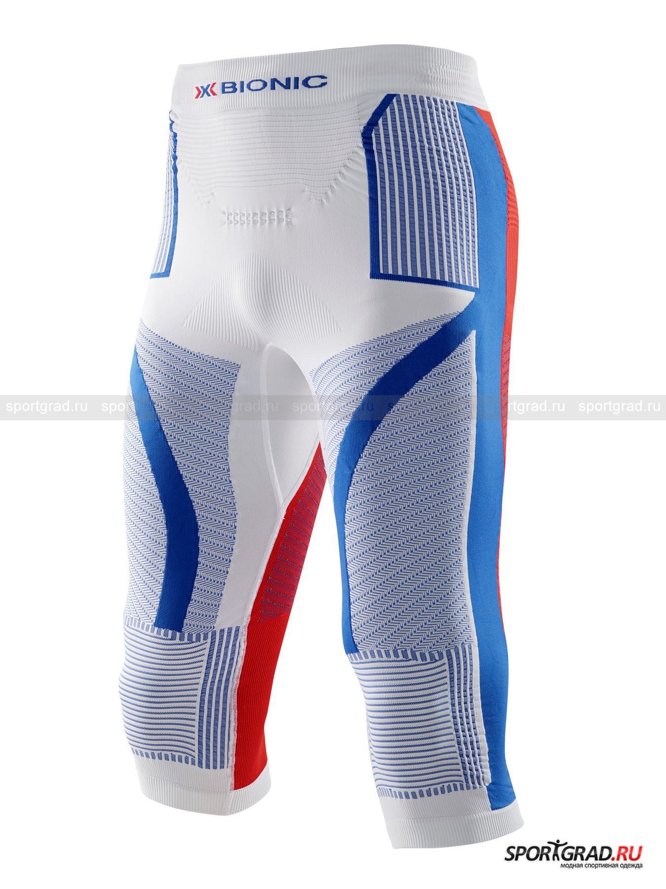 Белье: термобриджи мужские Patriot Acc_Evo pants med X-BIONIC для занятий спортом