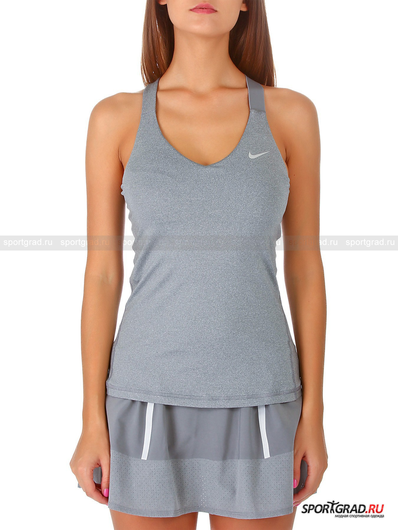 Майка женская ADVANTAGE SOLID TANK NIKE для тенниса