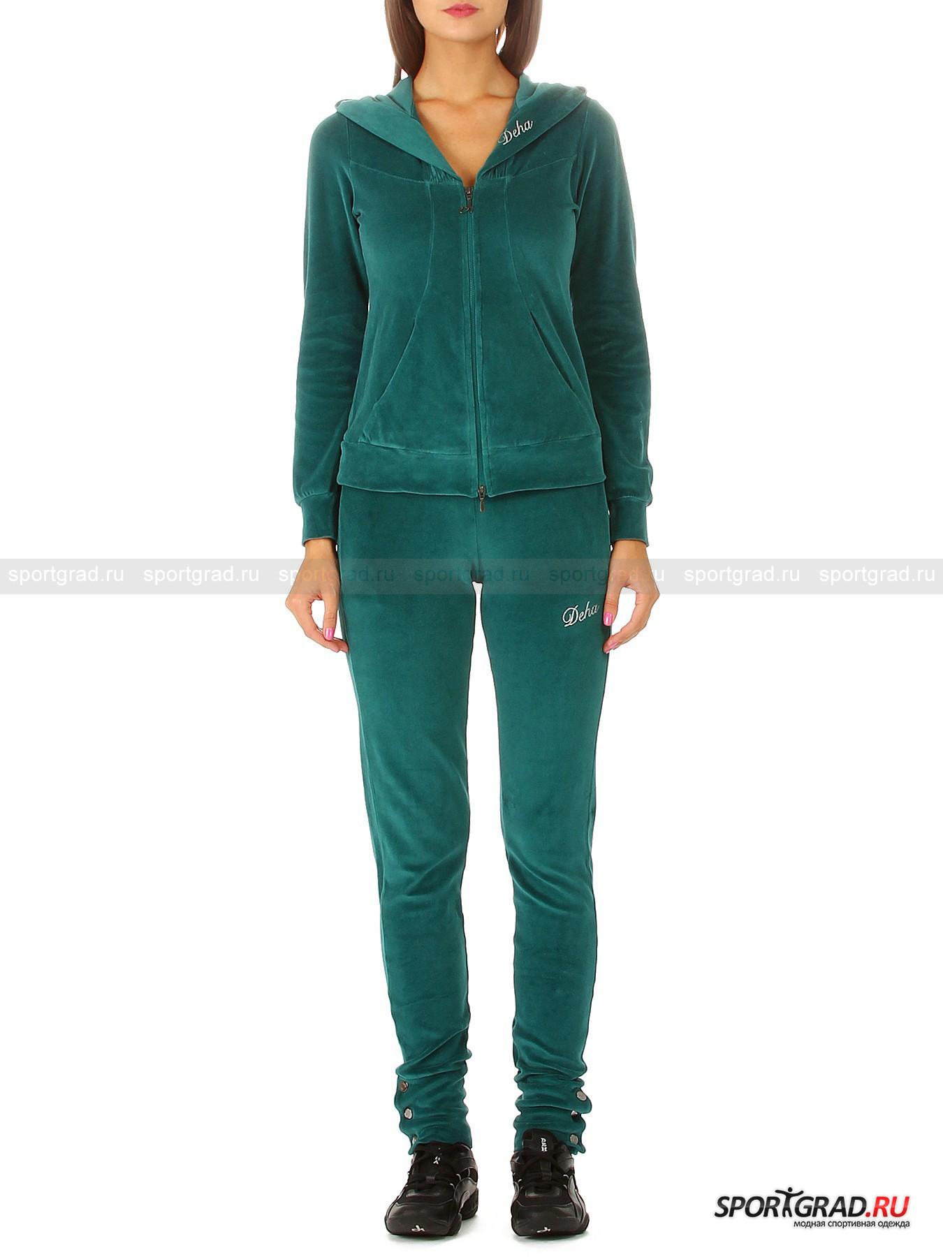 Костюм женский велюровый Track suit DEHA