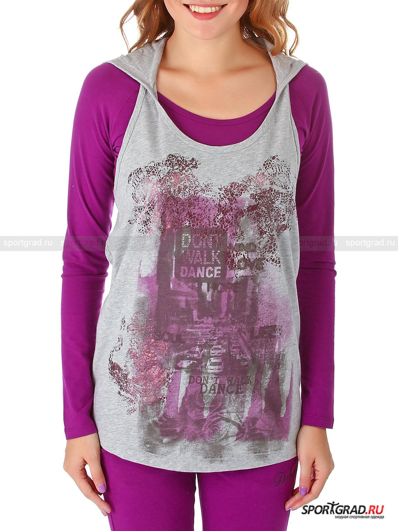�������� ������� T-shirt hooded DEHA + �����-��������