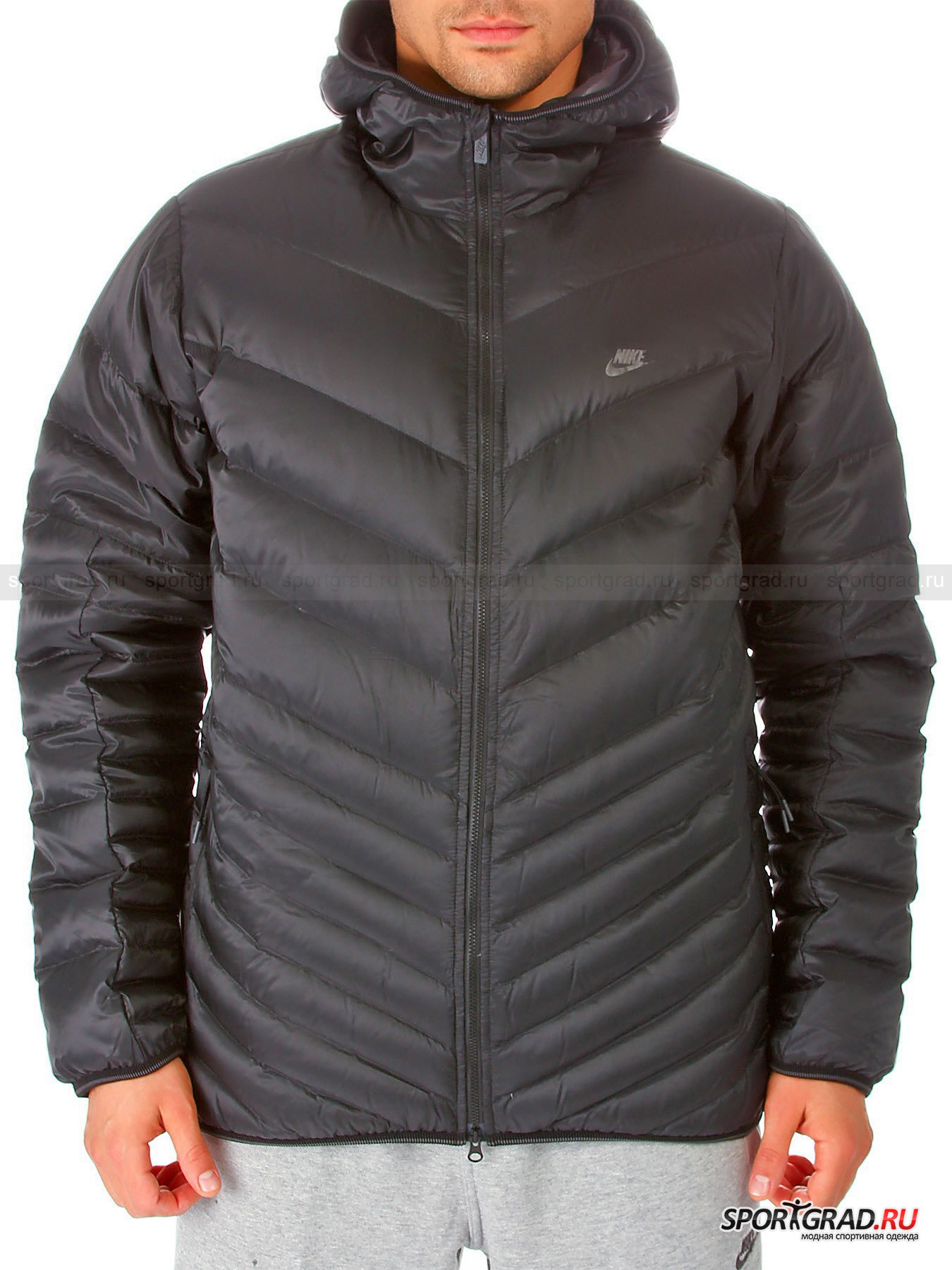 Куртка  мужcкая NIKE CASCADE JACKET-700 HOODED NIKE