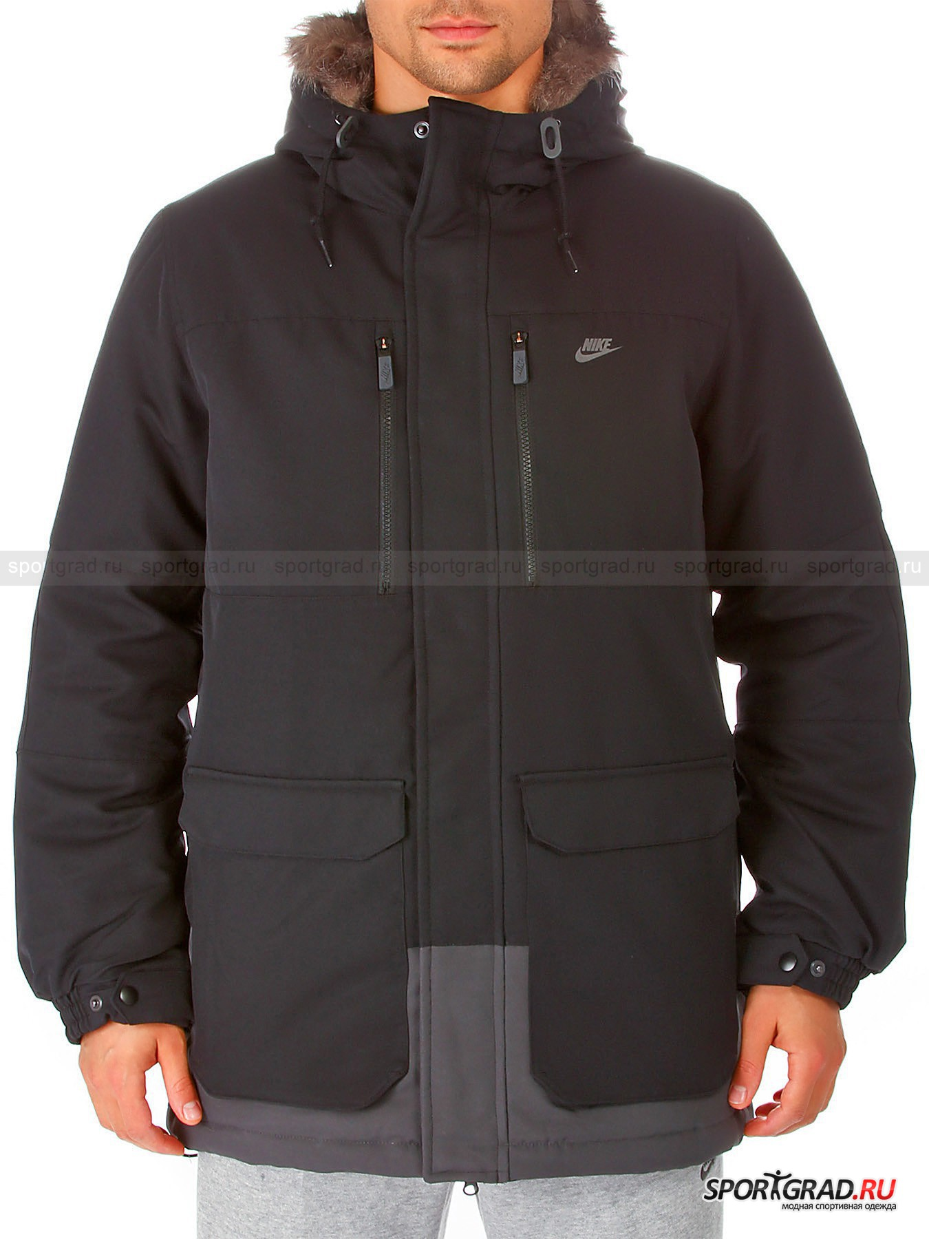 Куртка мужская NIKE FIELD PARKA-550 HOODED RD NIKE