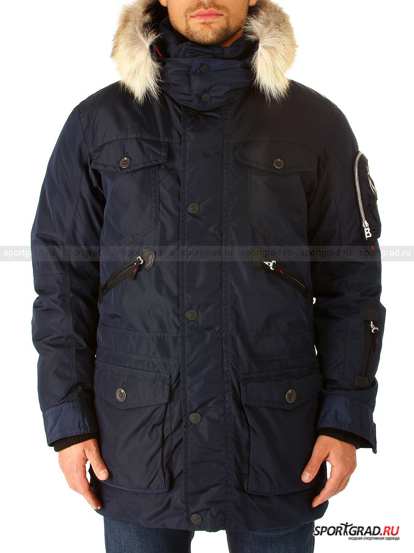Куртка мужская Phil-d BOGNER Fire & Ice от Спортград