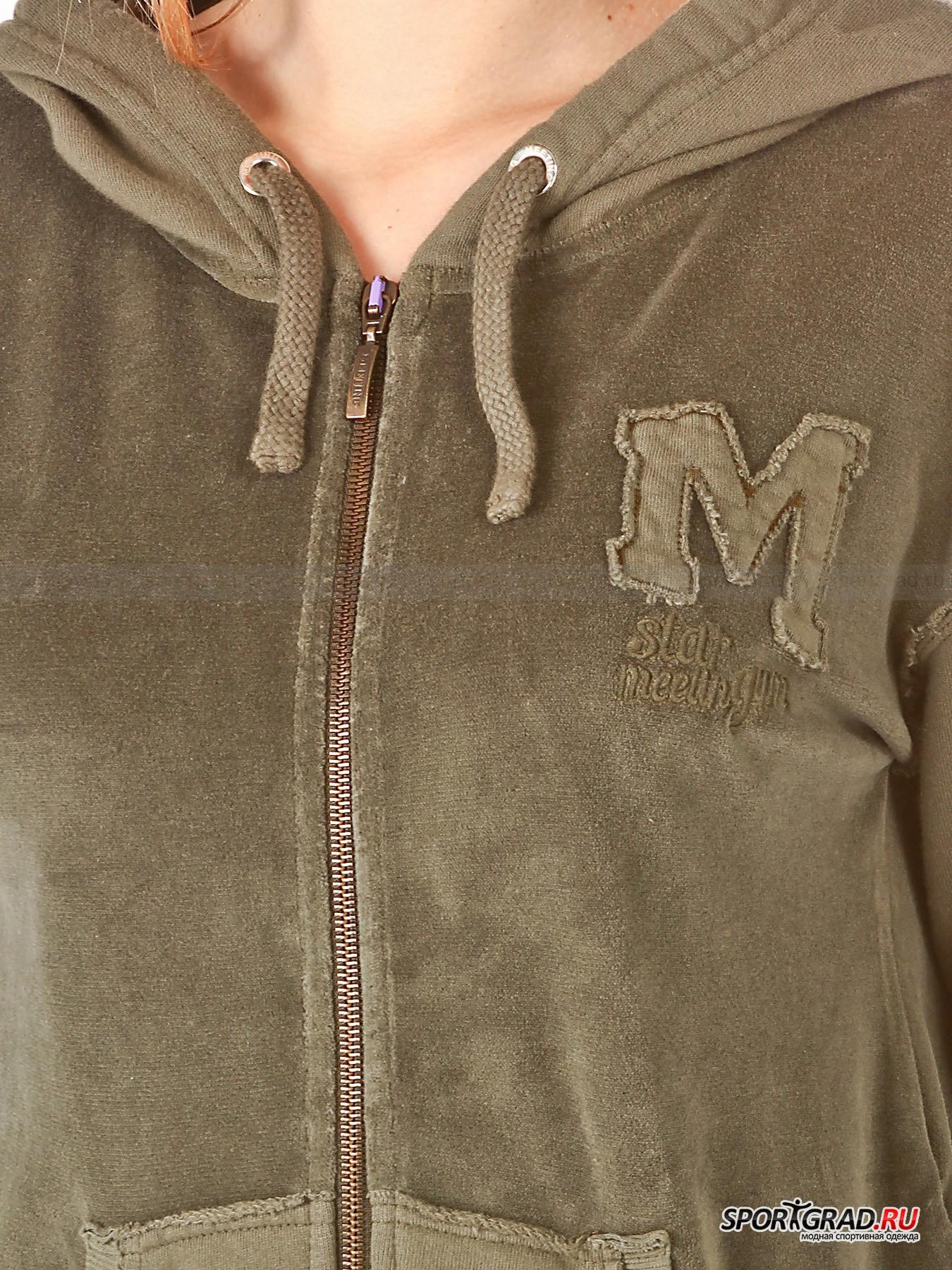 Толстовка женская  Full zip sweatshirt MEETING от Спортград