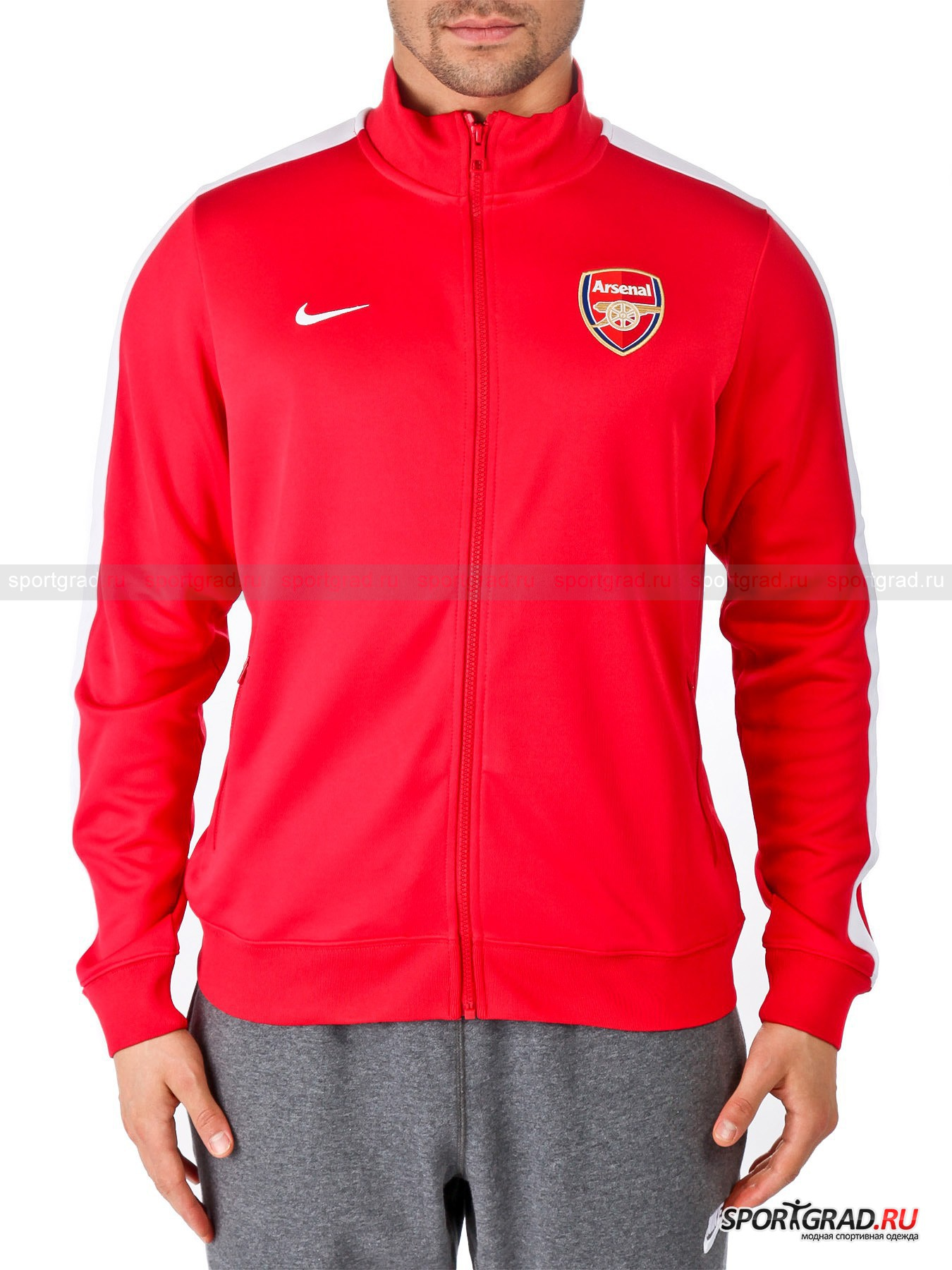 Олимпийка мужская Nike N98 AFC Auth trk jkt arsenal NIKE