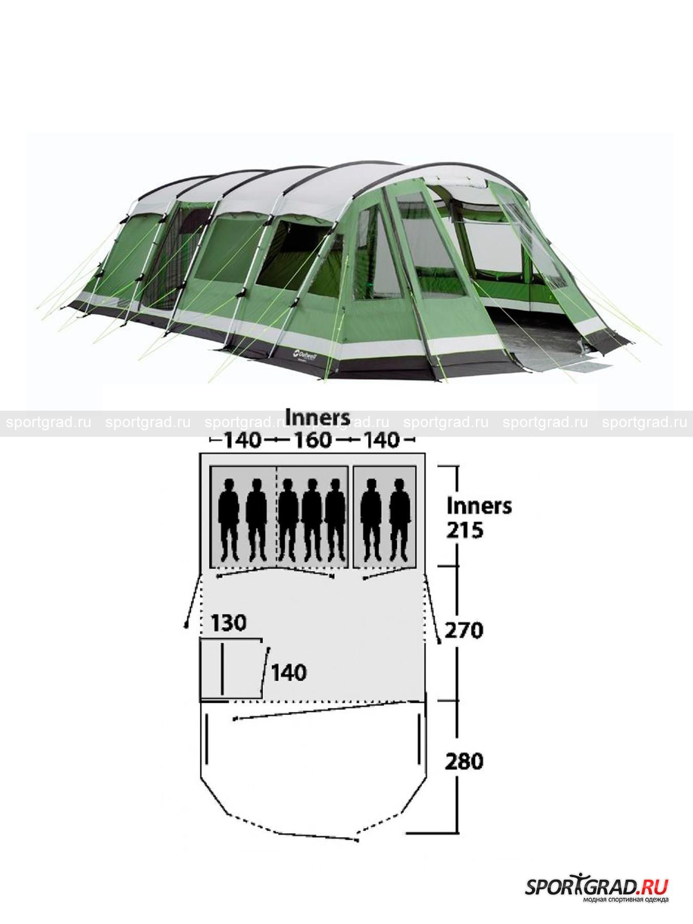 Палатка Vermont L OUTWELL от Спортград