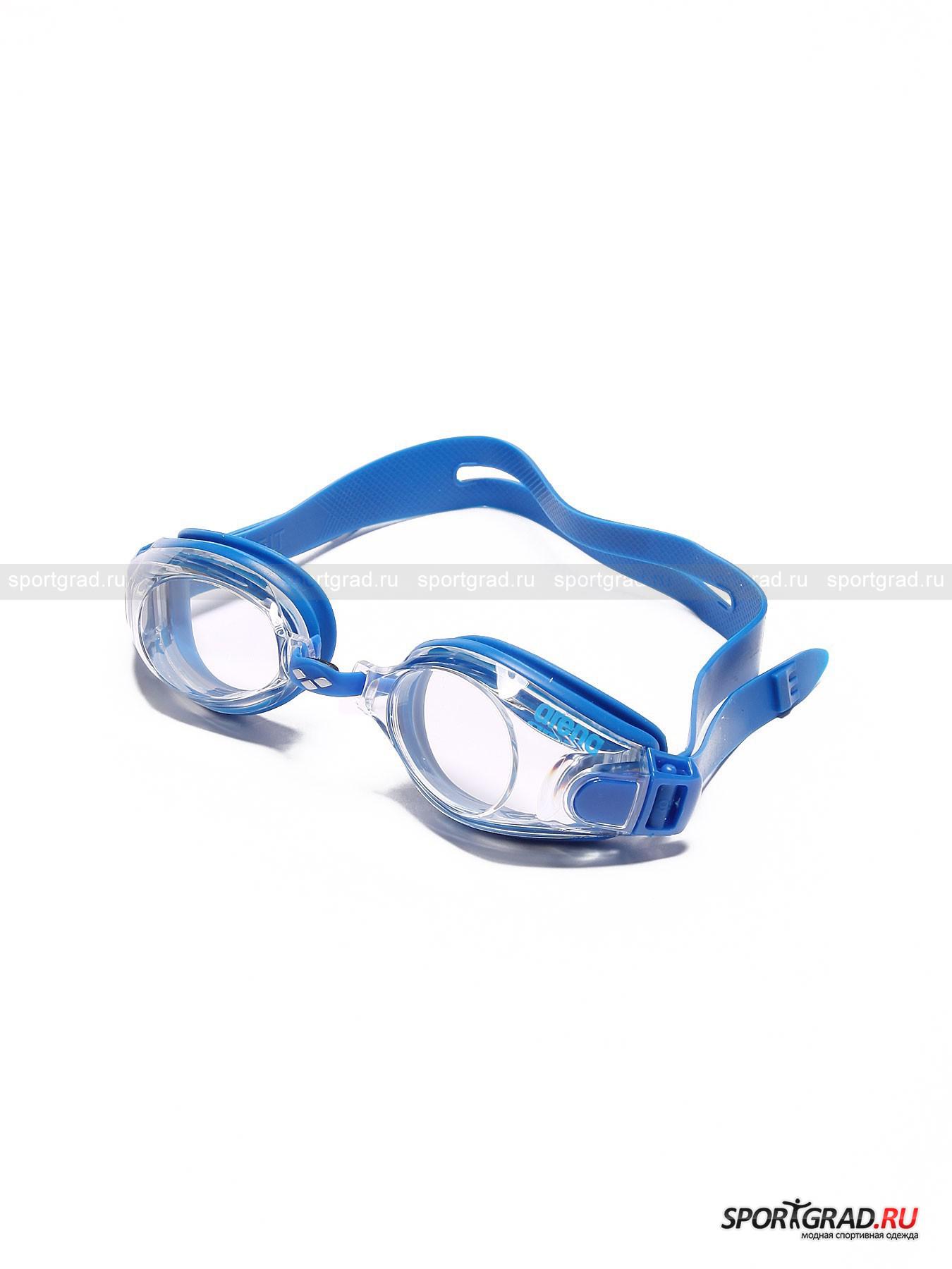 Очки для плавания Zoom X-Fit ARENAОчки Для Плавания<br>Отличные очки из линейки Training Series подойдут как для тренировок в бассейне, так и для использования в открытых водоёмах. Эту модель отличает  особенное удобство: двойной силиконовый ремешок, мягкая неопреновая подушечка на носовой перемычке и уплотнитель из силиконового геля. К тому же очки снабжены небьющимися поликарбонатовыми линзами с системой анти-туман, которые гарантируют прекрасный подводный обзор. А также защитой от УФ-лучей.  Если Вам нужны комфортные очки для плавания, то Вы нашли их!<br><br>Возраст: Взрослый<br>Тип: Очки Для Плавания<br>Рекомендации по уходу: После каждого использования споласкивать пресной водой, сушить в стороне от батарей и солнечных лучей, регулярно восстанавливать антизапотевающий слой специальным спреем анти-фог.<br>Состав: Линзы - поликарбонат, подушечка - неопрен, уплотнитель и ремешок - силикон.