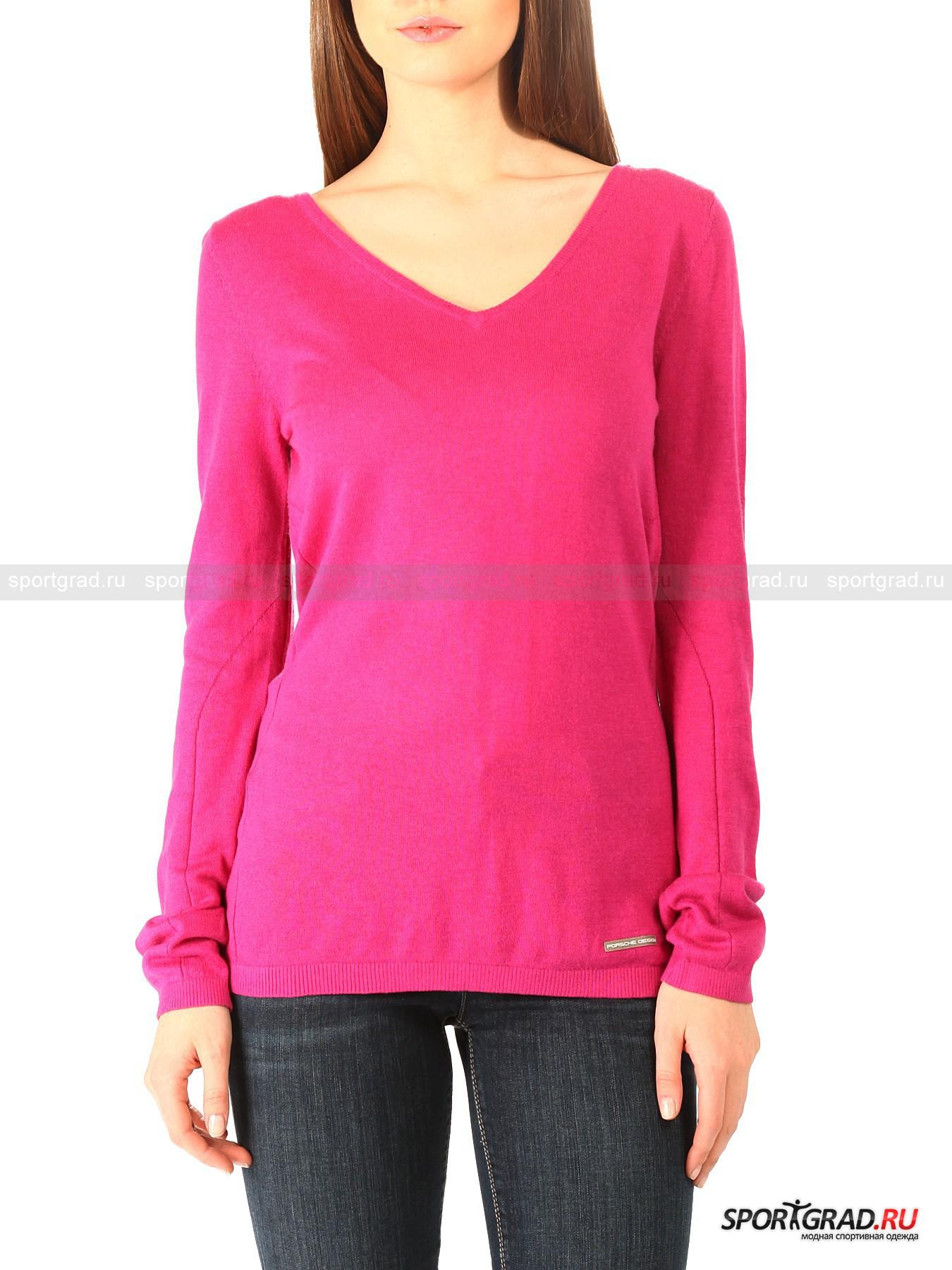 Пуловер женский Cashmere V-neck PORSCHE DESIGN