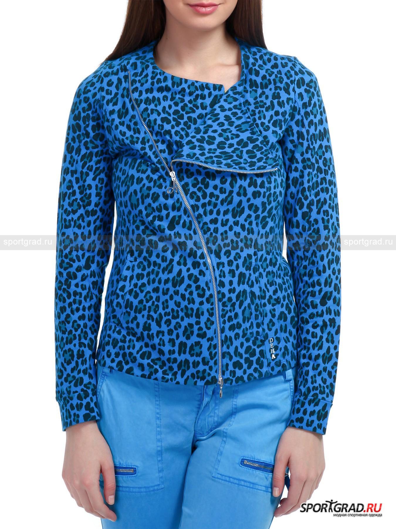 Толстовка-жакет женская  Jacket  DEHA с леопардовым принтом