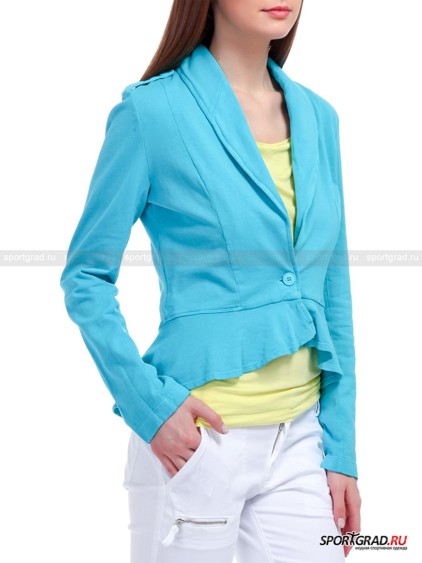 Женский жакет Jacket  DEHA из футерированного хлопка от Спортград