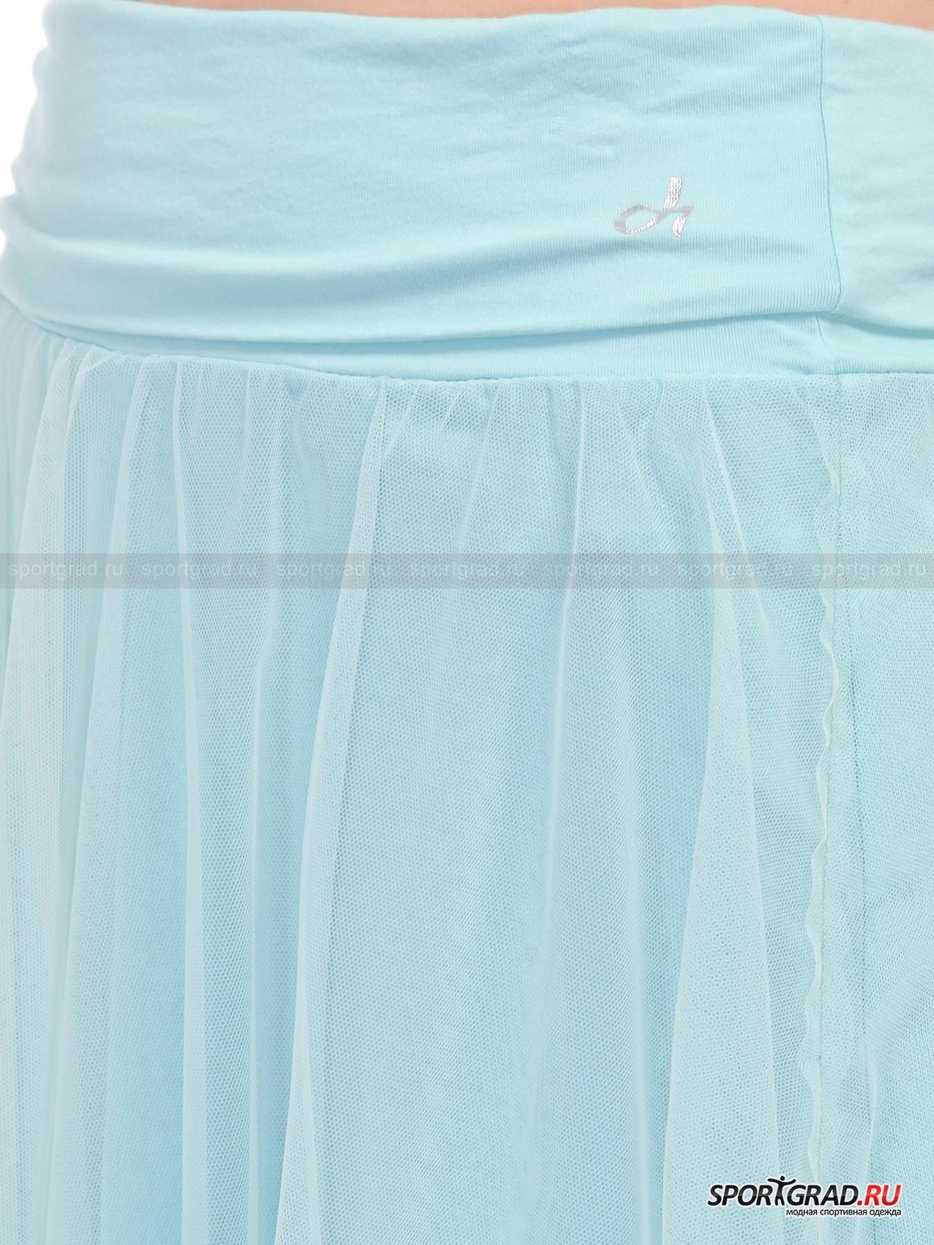 Юбка женская  DEHA с полупрозрачным верхним слоем от Спортград