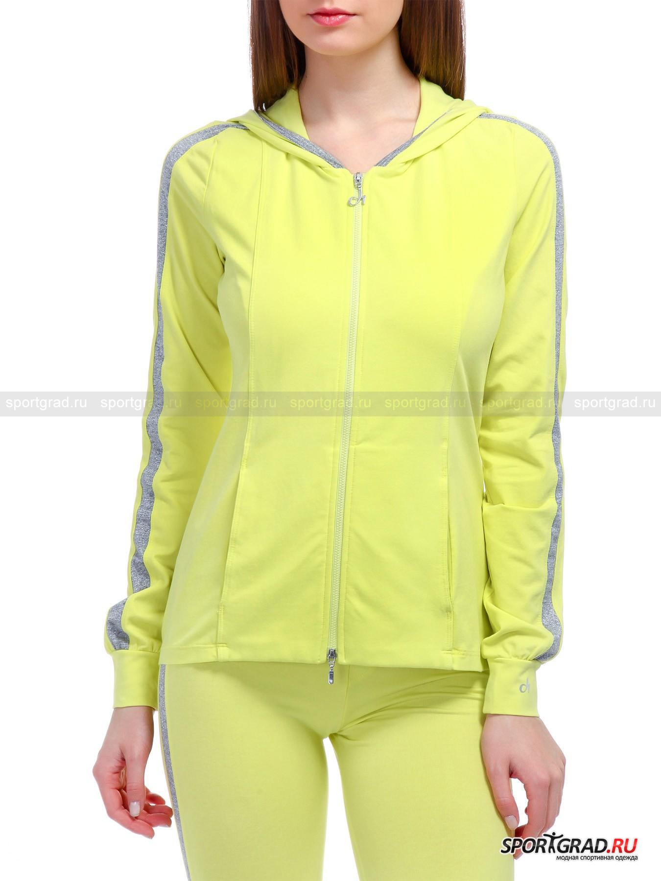 Толстовка женская спортивная Hooded Full Zip Swetshirt DEHA от Спортград