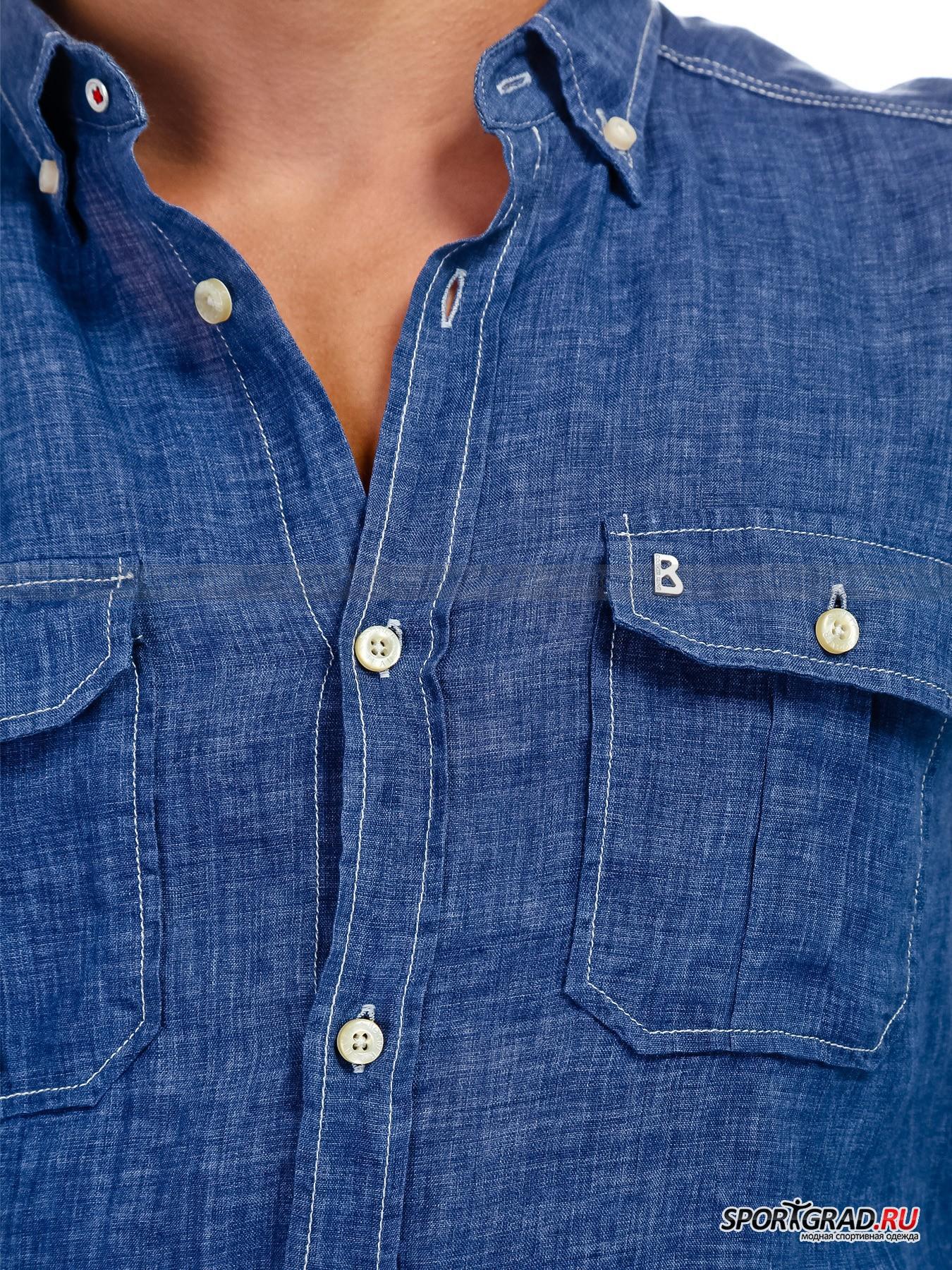 Рубашка мужская TOM BOGNER JEANS от Спортград