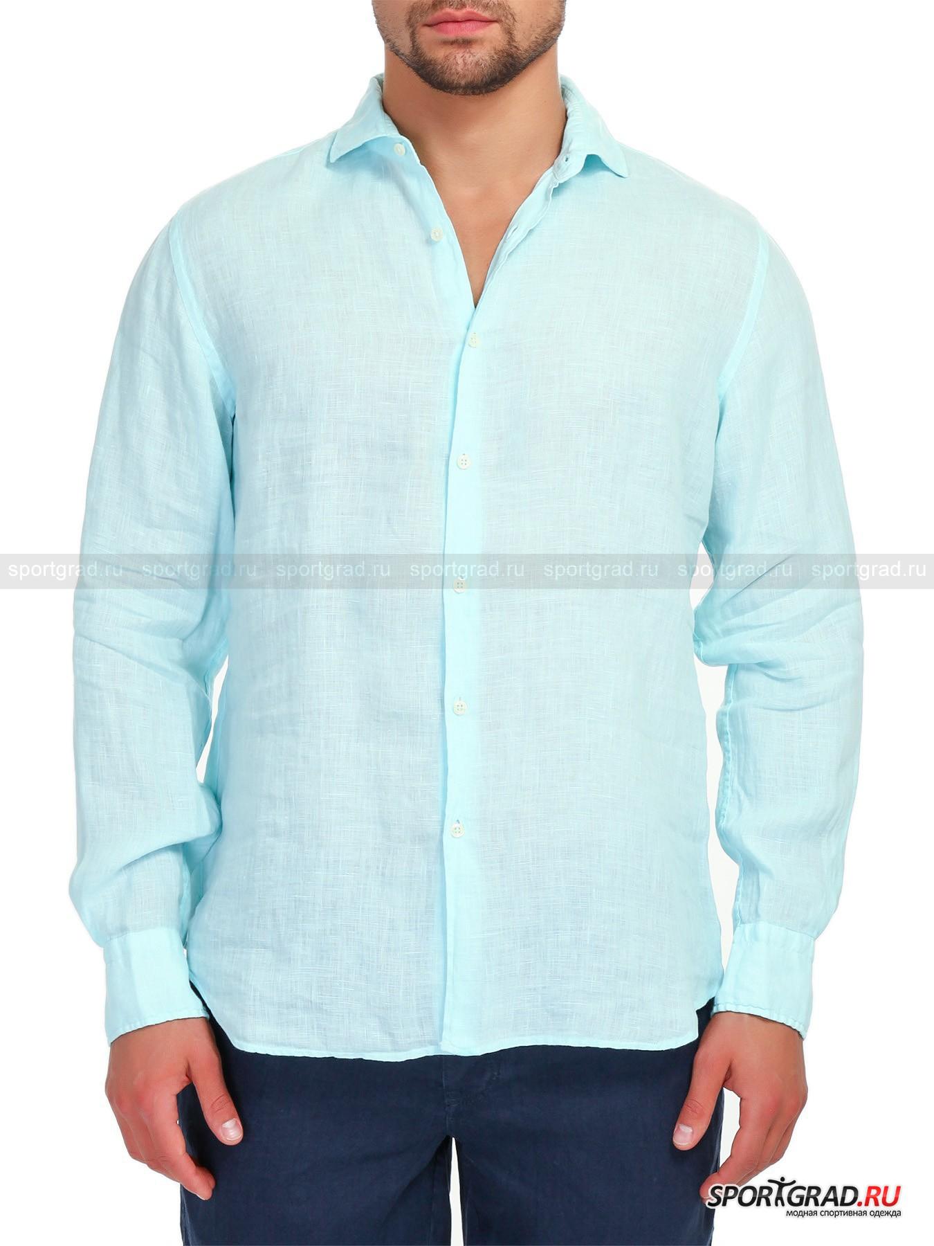 Рубашка мужская MC2 SAINT BARTHРубашки<br>Приятная телу льняная рубашка от набирающего обороты модного итальянского бренда MC2 SAINT BARTH добавит лёгкости Вашему курортному образу. Натуральный лён дышит, быстро высыхает и имеет особенный, несравнимый ни  с чем внешний вид. Этот материал также очень приятен коже и имеет довольно лёгкий вес. Модель имеет свободный крой,  удобные манжеты на 2-х пуговицах,  аккуратный воротник и небольшие разрезы снизу по бокам. Одежда MC2 SAINT BARTH создана, для того чтобы наполнить Ваш долгожданный отдых удовольствием.<br><br>Пол: Мужской<br>Возраст: Взрослый<br>Тип: Рубашки<br>Рекомендации по уходу: Ручная стирка при 30 градусах, ручной отжим, не гладить.<br>Состав: 100% лён