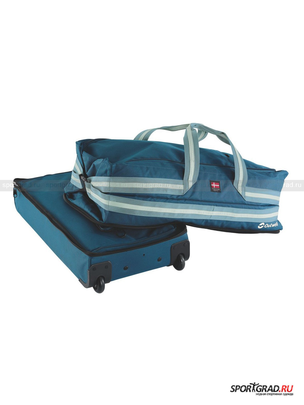 Сумка Excursion 95 Wheel Duffle Blue Outwell от Спортград