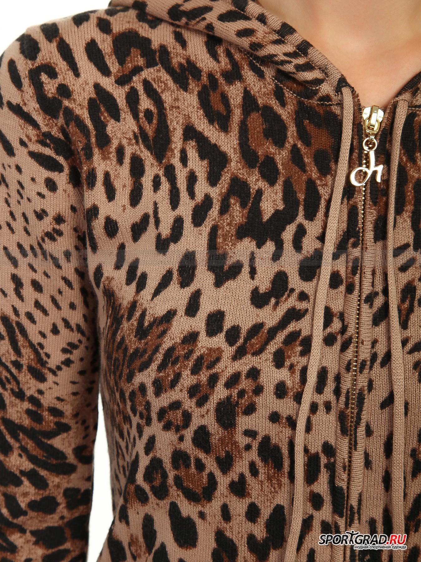 Кардиган женский DEHA с леопардовым узором от Спортград