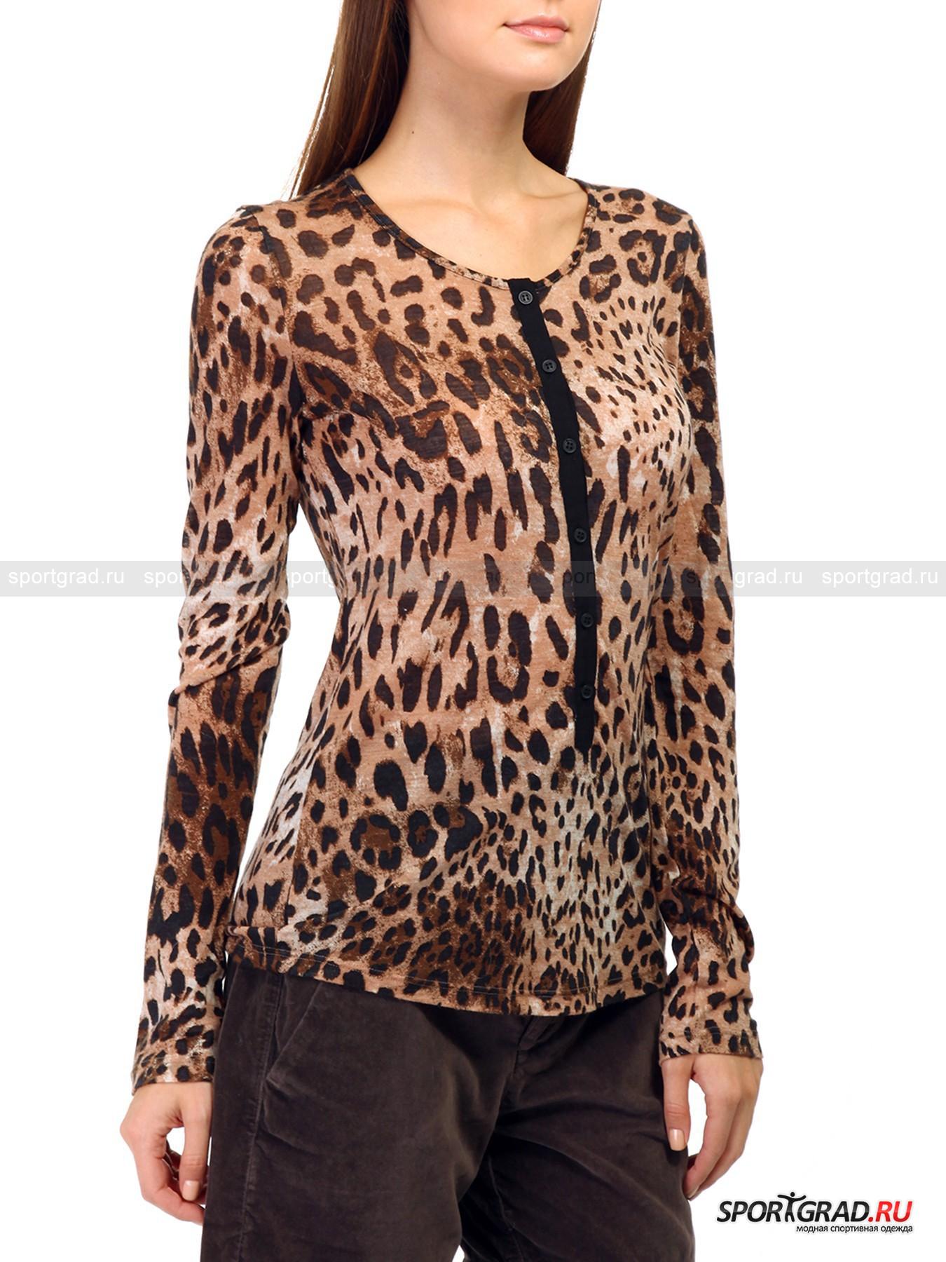 Блузка Леопард Купить