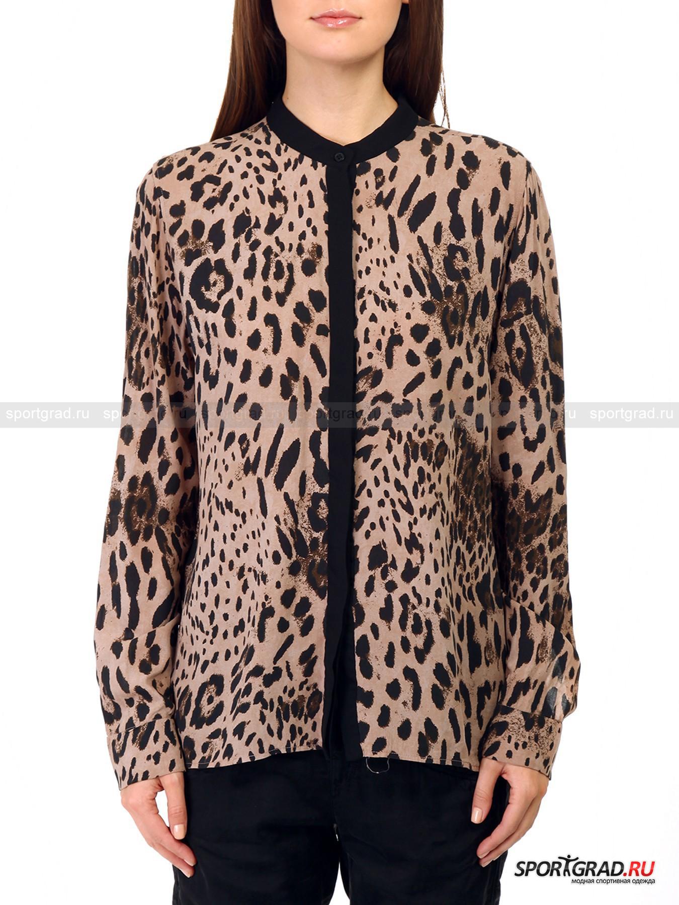 Блузка женская DEHA с леопардовым принтом