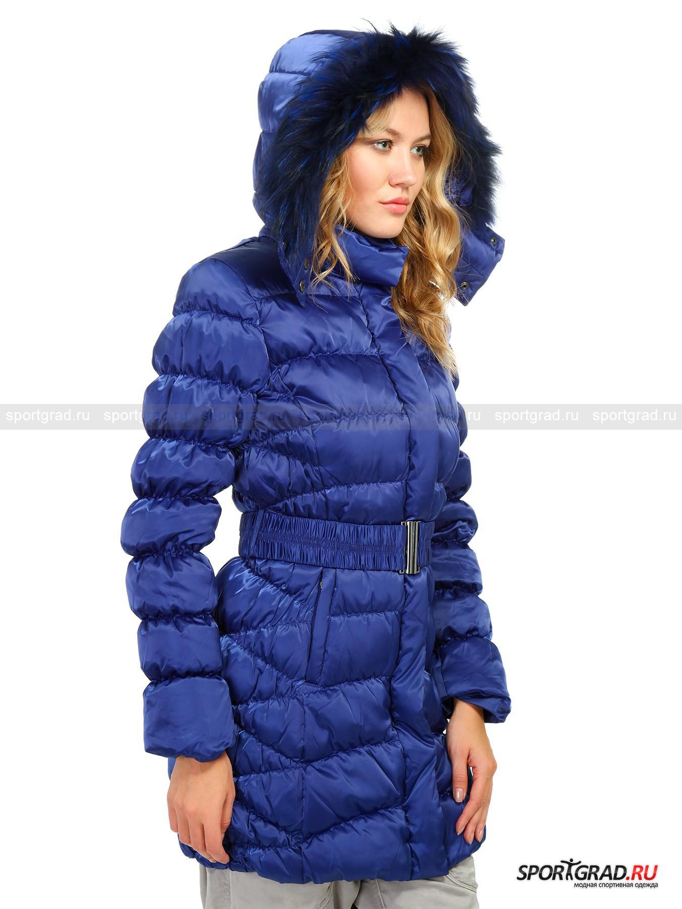 Пальто женское стеганое DEHA на пуху от Спортград
