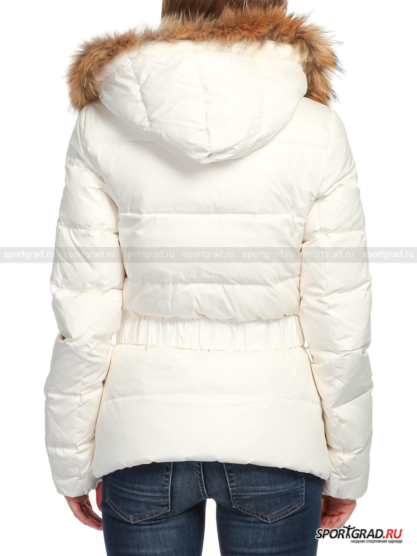 Куртка женская приталенная EMPORIO ARMANI на пуху от Спортград