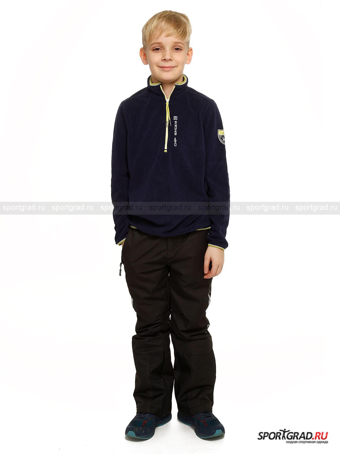 Джемпер горнолыжный для мальчиков  BOY FLEECE SWEAT CAMPAGNOLO от Спортград