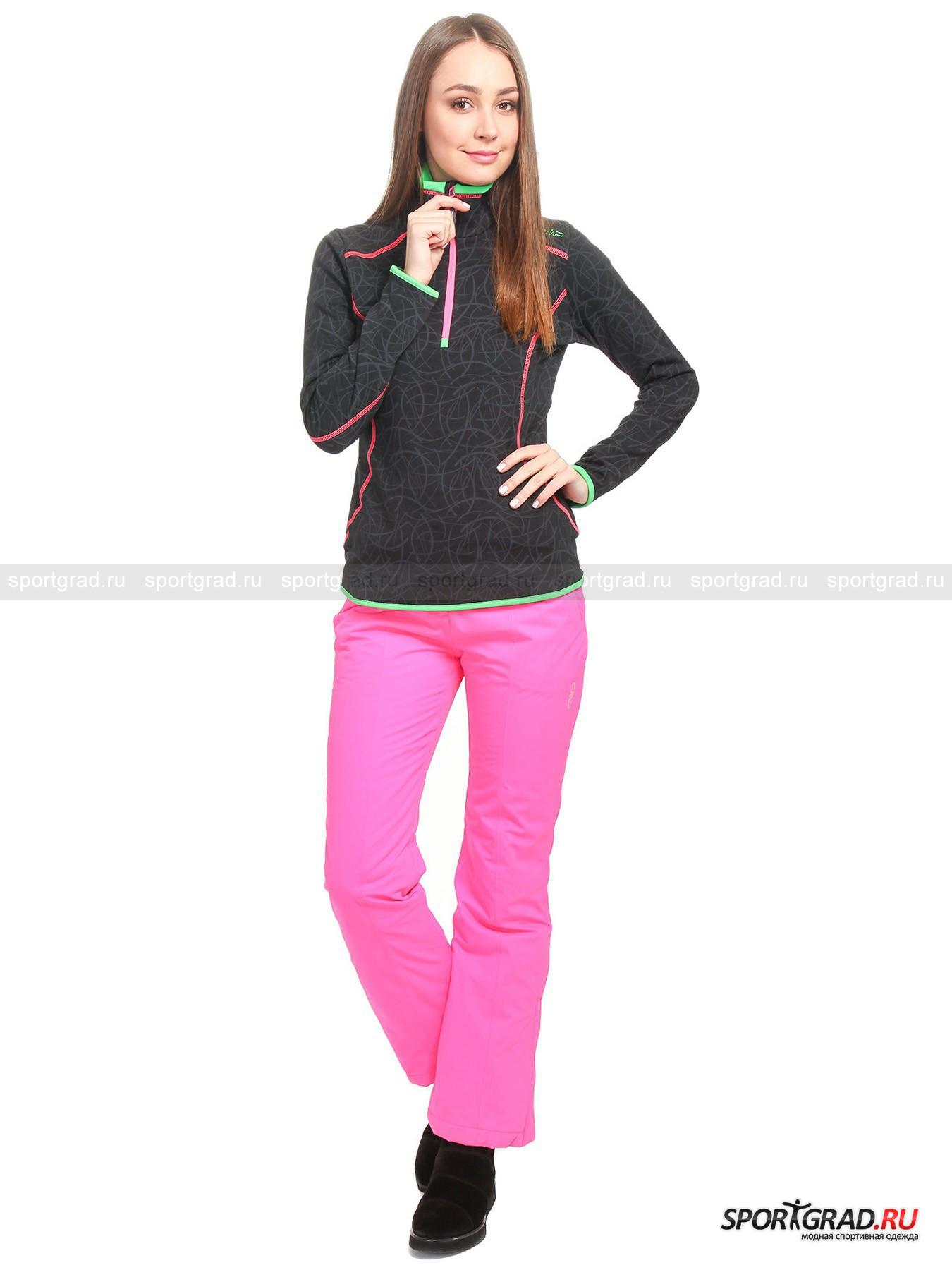 Олимпийка женская горнолыжная WOMAN FLEECE SW CAMPAGNOLO от Спортград