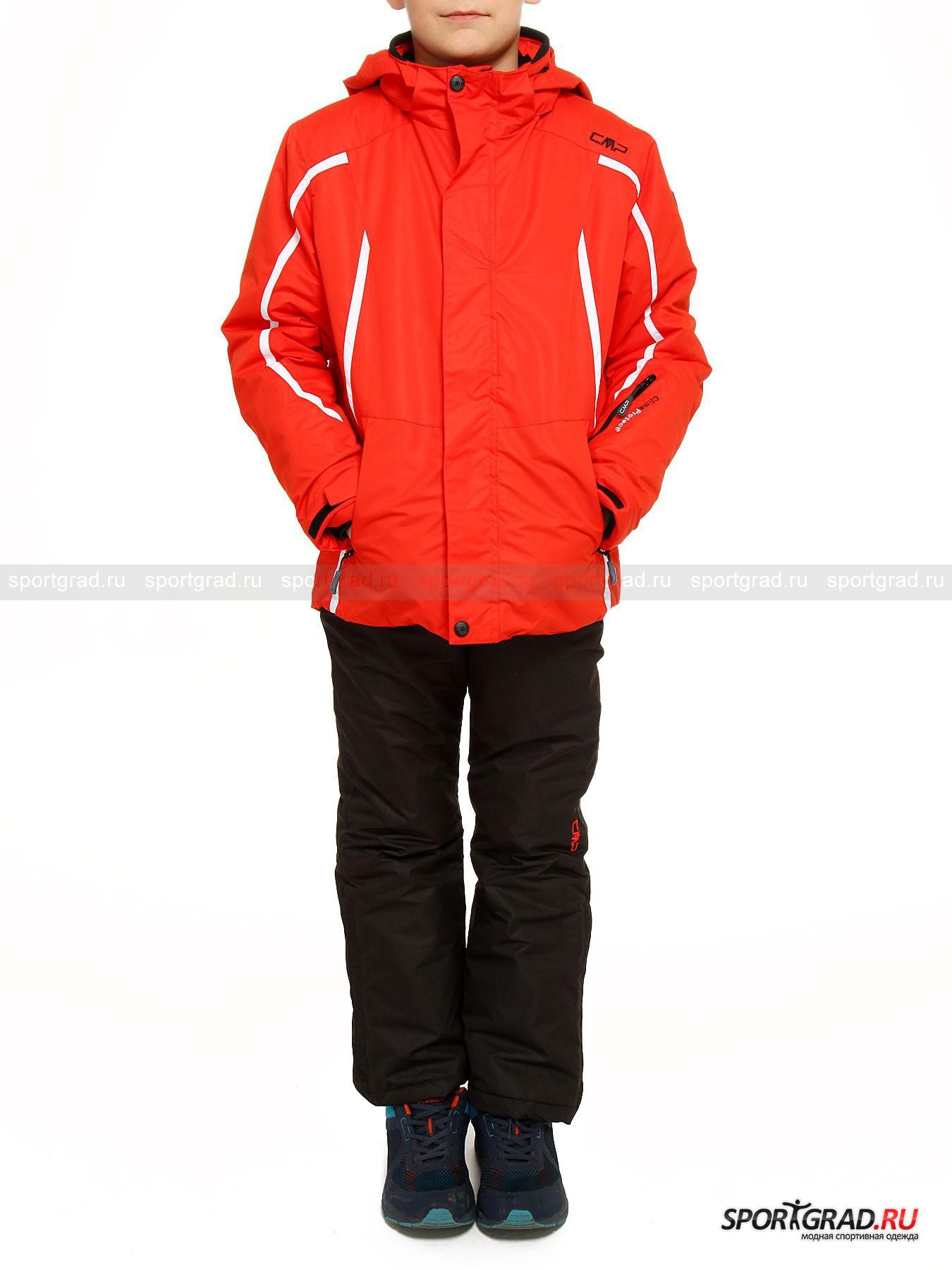 Комплект горнолыжный для мальчиков (куртка брюки) BOY SNAPS HOOD JACKET CAMPAGNOLO