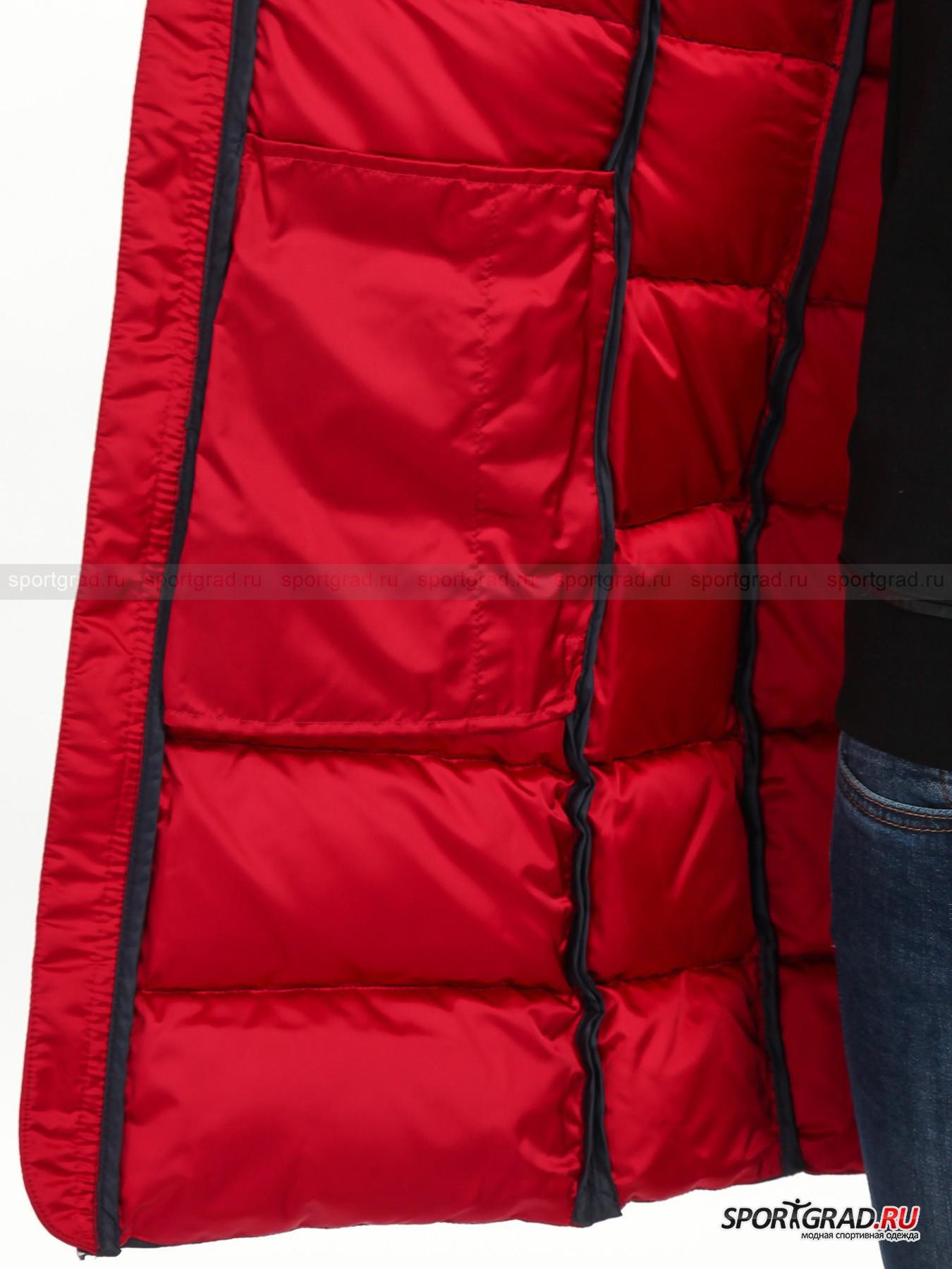 Пальто женское стеганое SHINY COLMAR с ремнем от Спортград
