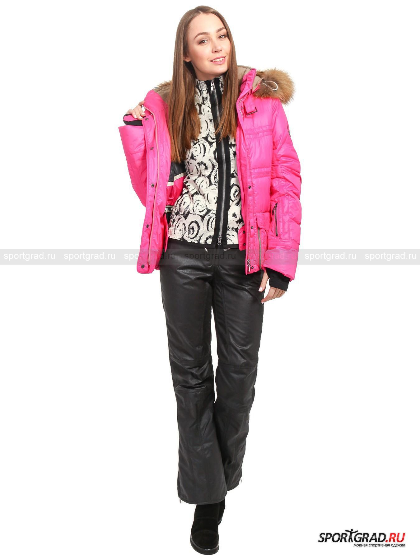 Куртка горнолыжная женская с мехом JANAN EMMEGI от Спортград
