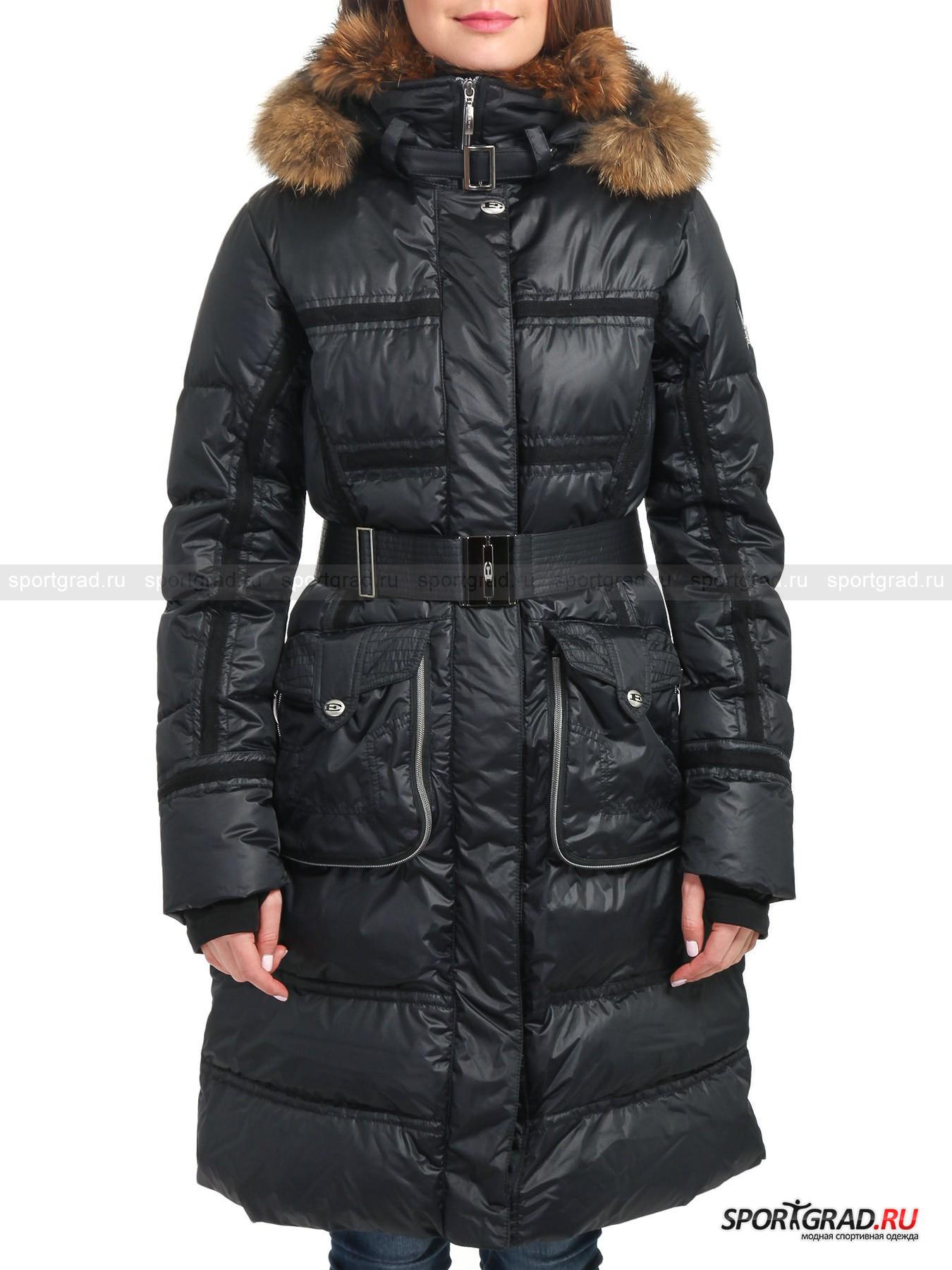Пальто пуховое женское с мехом JORDANP EMMEGY