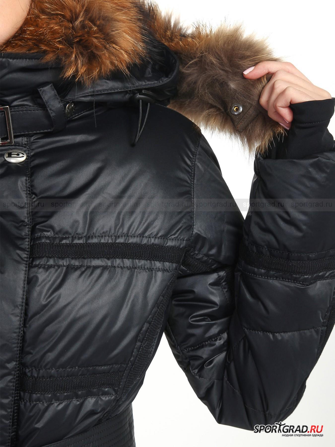 Пальто пуховое женское с мехом JORDANP EMMEGY от Спортград