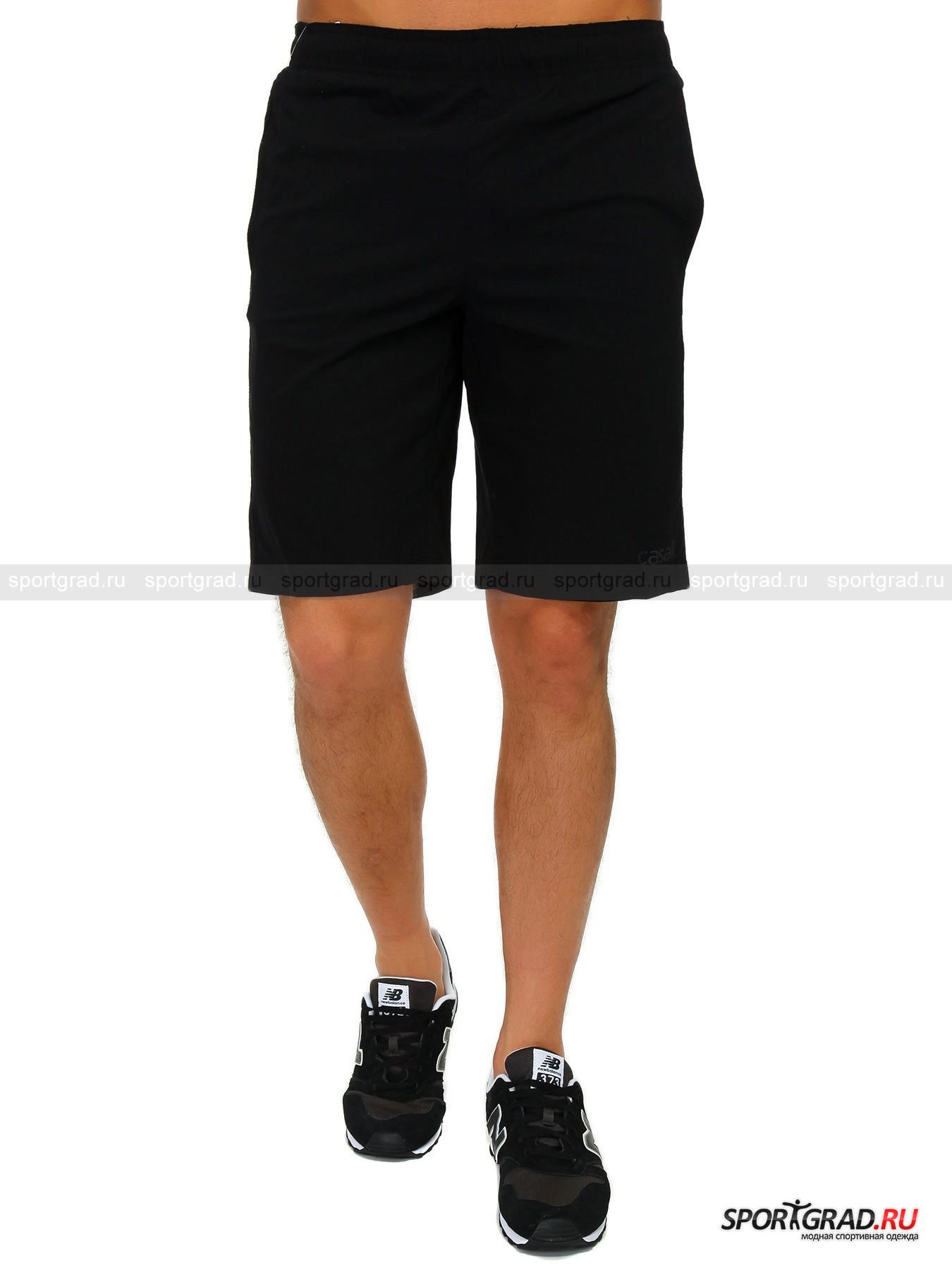 Шорты мужские Techno shorts CASALLШорты, Велосипедки<br>Лёгкие, эластичные и очень практичные тренировочные шорты Techno shorts от шведской компании Casall – грамотный выбор для многих видов спорта, в числе которых лёгкая атлетика, йога, тренинг, кроссфит, воркаут и многие другие. Ткань, из которой выполнена данная модель, дышит, быстро высыхает, неприхотлива и благодаря добавлению спандекса хорошо тянется. Шорты дополнены плотным широким притачным поясом со шнурком, 2 прорезными карманами на молниях и украшены принтом с надписью Casall спереди.<br><br>Пол: Мужской<br>Возраст: Взрослый<br>Тип: Шорты, Велосипедки<br>Рекомендации по уходу: Деликатная ручная стирка при температуре 30 градусов, щадящий ручной отжим, гладить при температуре до 120 градусов.<br>Состав: 94% полиамид, 6% эластан