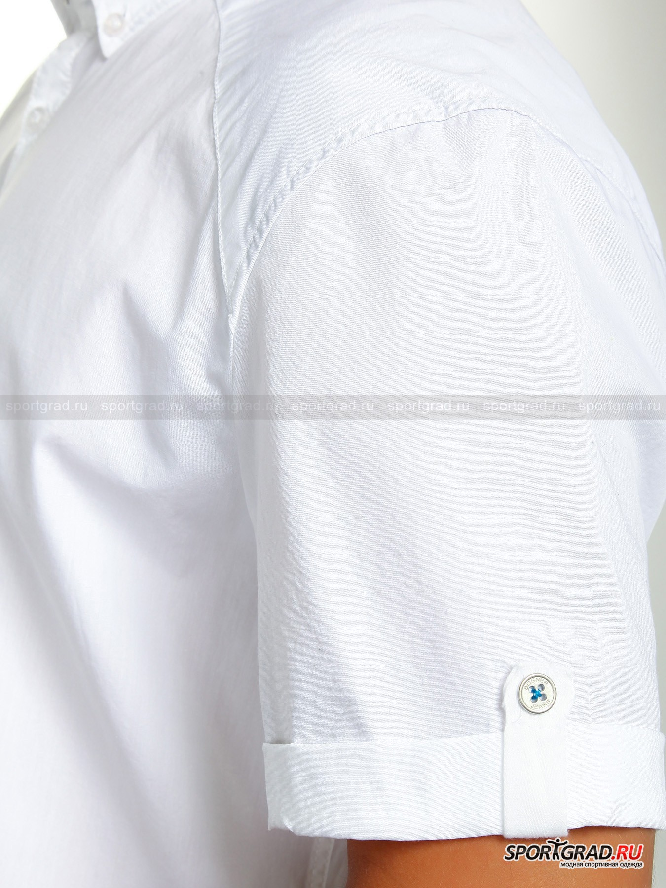 Рубашка мужская WASHED LINEN BOGNER JEANS от Спортград
