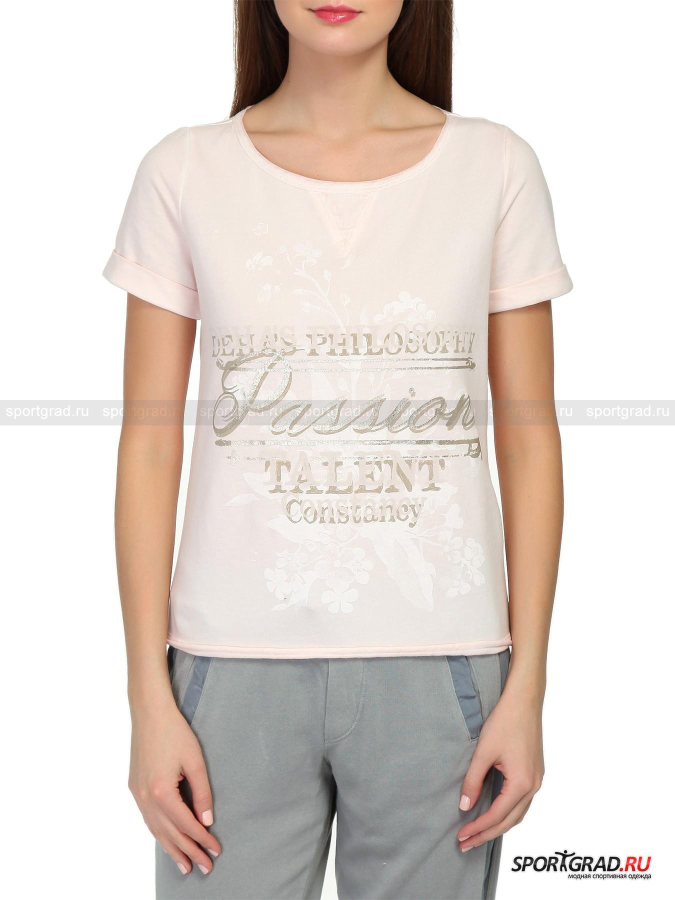 Футболка женская Sweatshirt DEHA