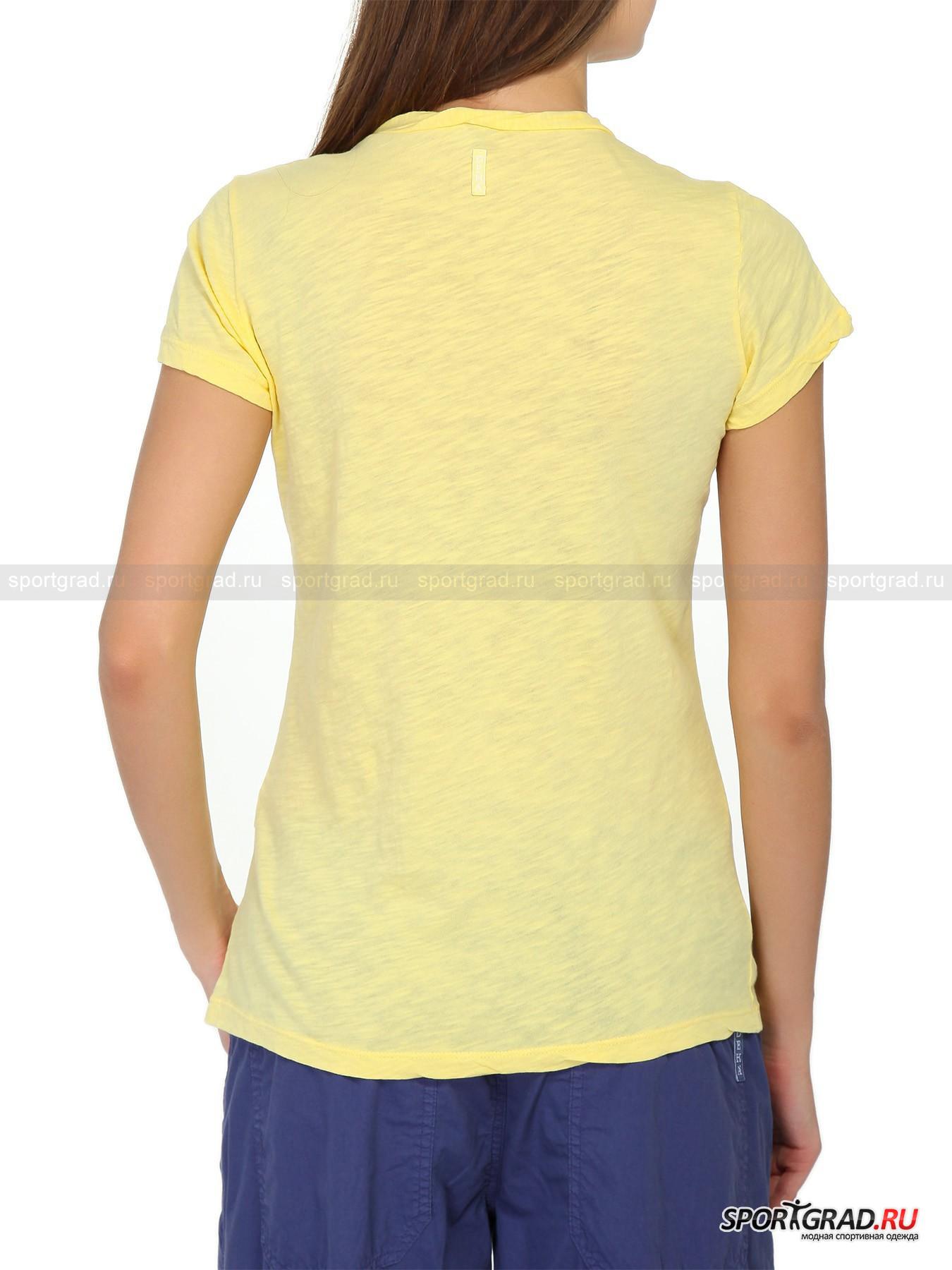 Футболка женская V-nek T-shirt DEHA от Спортград