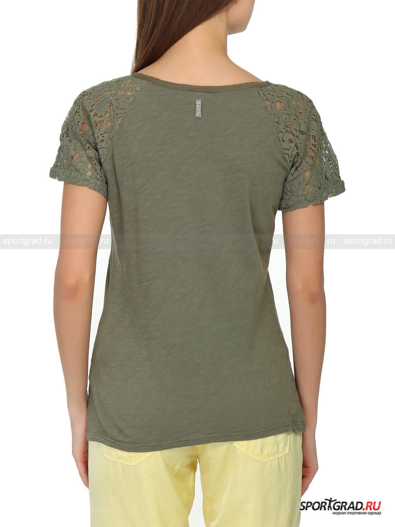 Футболка женская T-shirt DEHA от Спортград