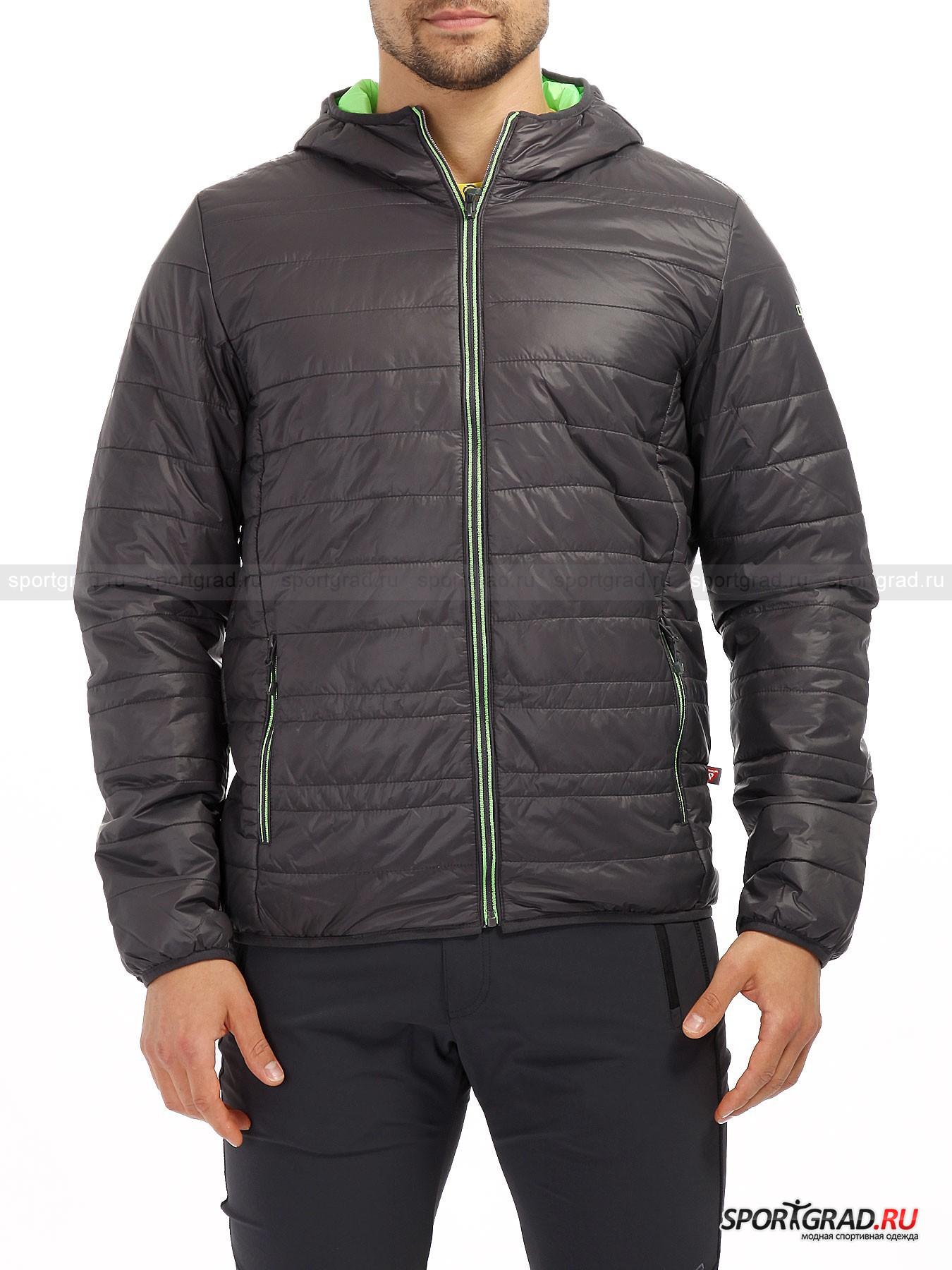 Куртка муж CAMPAGNOLO FIX HOODКуртки<br>Высокотехнологичный и многофункциональный пуховик уже давно стал реальностью, которую пора начать воспринимать всерьез всем, кто отдает предпочтение качественной и практичной одежде. Итальянская компания CAMPAGNOLO ни один сезон делает ставку на пуховые куртки, используя в качестве наполнителя, как натуральные, так и синтетические материалы. Данная модель пуховика изготовлена с применением технологии Primaloft, что гарантирует сохранение тепла тела без увеличения объема самой куртки. К этому стоит добавить высокий уровень изоляции влаги и дышащее свойство материала изготовления. Мужская куртка CAMPAGNOLO не только легкая, но и приятная на ощупь. Особенно это ощущается, когда одеваешь удобный и не стесняющий движения головы капюшон. Изюминкой данной модели стоит считать наличие специального мешочка, в который весьма компактно складывается пуховик. Отличный выбор для любителей путешествий и походов.<br><br>Пол: Мужской<br>Возраст: Взрослый<br>Тип: Куртки<br>Рекомендации по уходу: Щадящая стирка при 40 С; отбеливание запрещено; сушка в барабане при температуре 50 С; не гладить; химчистка <br>Состав: 100% полиамид, подкладка – 100% полиэстер.