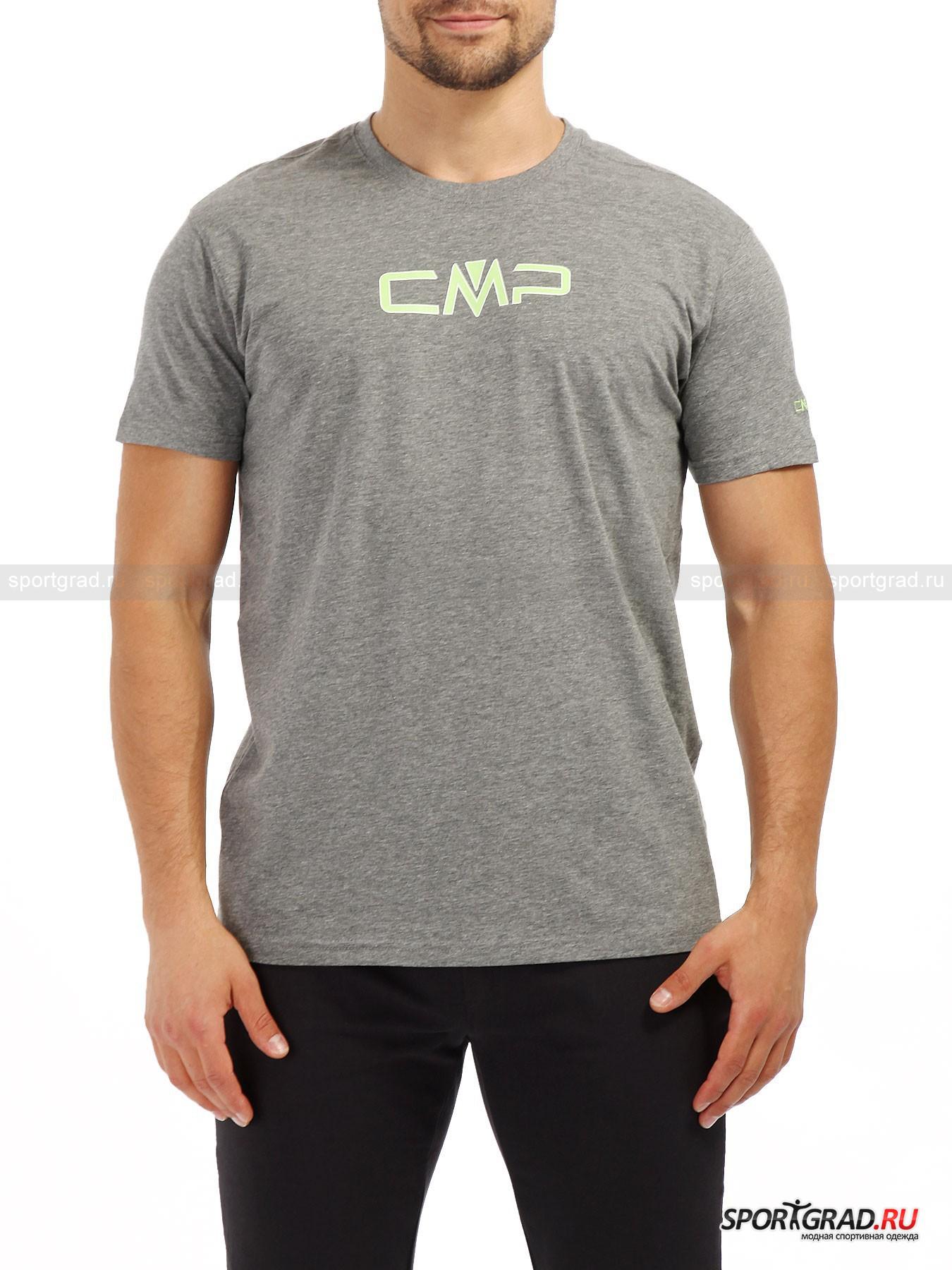 Футболка мужская  CAMPAGNOLO STRETCHФутболки<br>Что может быть проще и что может быть нужнее летом, чем футболка. Без нее никуда, но важно, чтобы футболка не доставляла дискомфорта, сидела свободно и не заставляла изрядно потеть. Всеми этими качествами обладает модель футболки от итальянского бренда одежды CAMPAGNOLO, изготовленная с применением технологии Stretch. Стрейч получается за счет добавления в основной материал изготовления эластана, который гарантирует эластичность одежды и благодаря этому износостойкость. На груди данной модели изображен путем нанесения принта крупный логотип CAMPAGNOLO. Такой же, но чуть меньший по размеру, расположен на плече и нанесен при помощи технологии вышивки.<br><br>Пол: Мужской<br>Возраст: Взрослый<br>Тип: Футболки<br>Рекомендации по уходу: Щадящая стирка при 40 С; отбеливание запрещено; сушка в барабане запрещена; сушка в вертикальном положении; отжим разрешен; гладить при температуре до 110 С; химчистка запрещена; разрешена щадящая аквачистка; при стирке не смешивать с изделиями других цве<br>Состав: 95% хлопок/5% эластан.